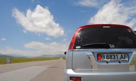 Viajando de Bishkek a Osh en taxi compartido