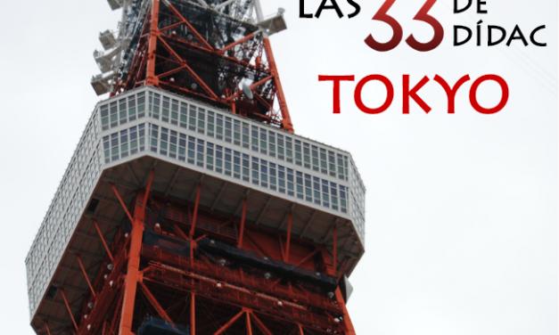 Las 33 de Dídac: Tokyo, 40 millones y serenidad