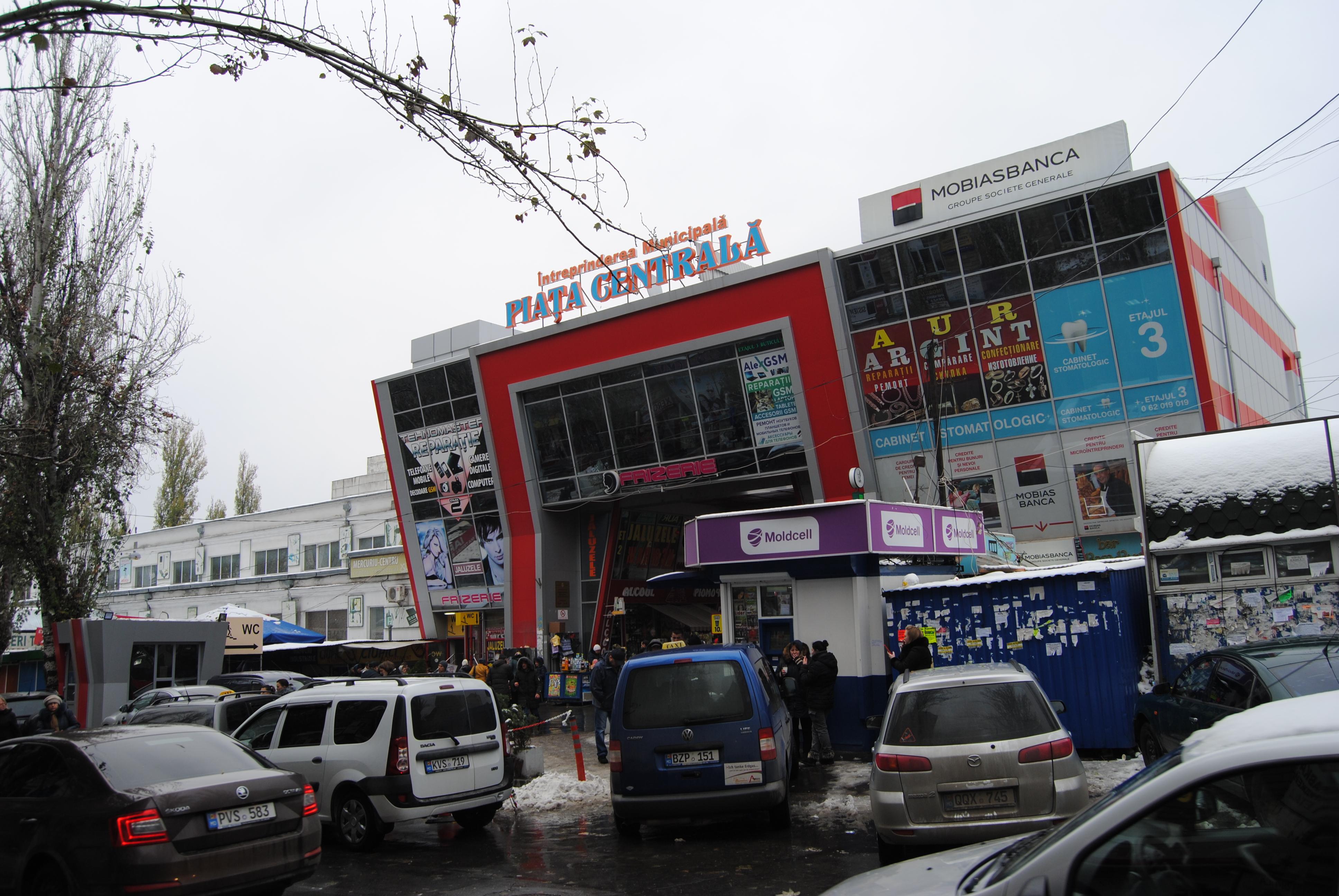 Piata Centrala, el mercado de Chisinau