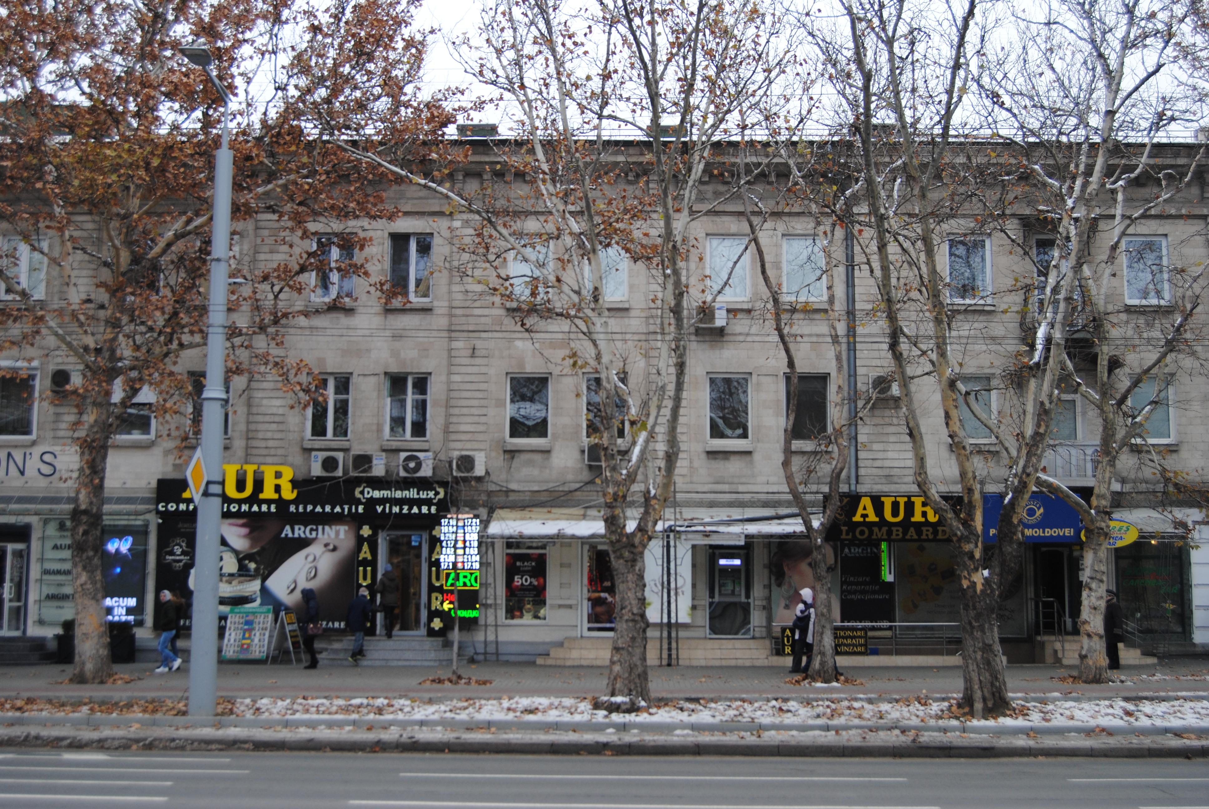 Puestos de venta de oro en Chisinau