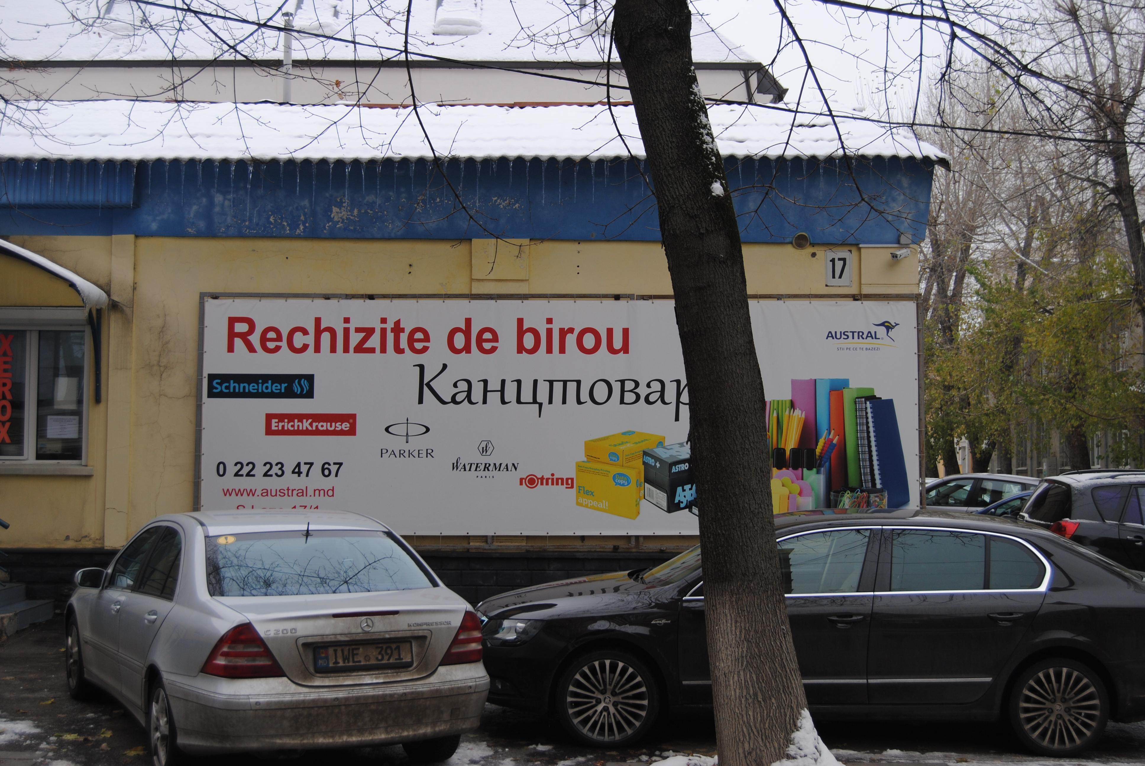 Bilingüismo en Chisinau