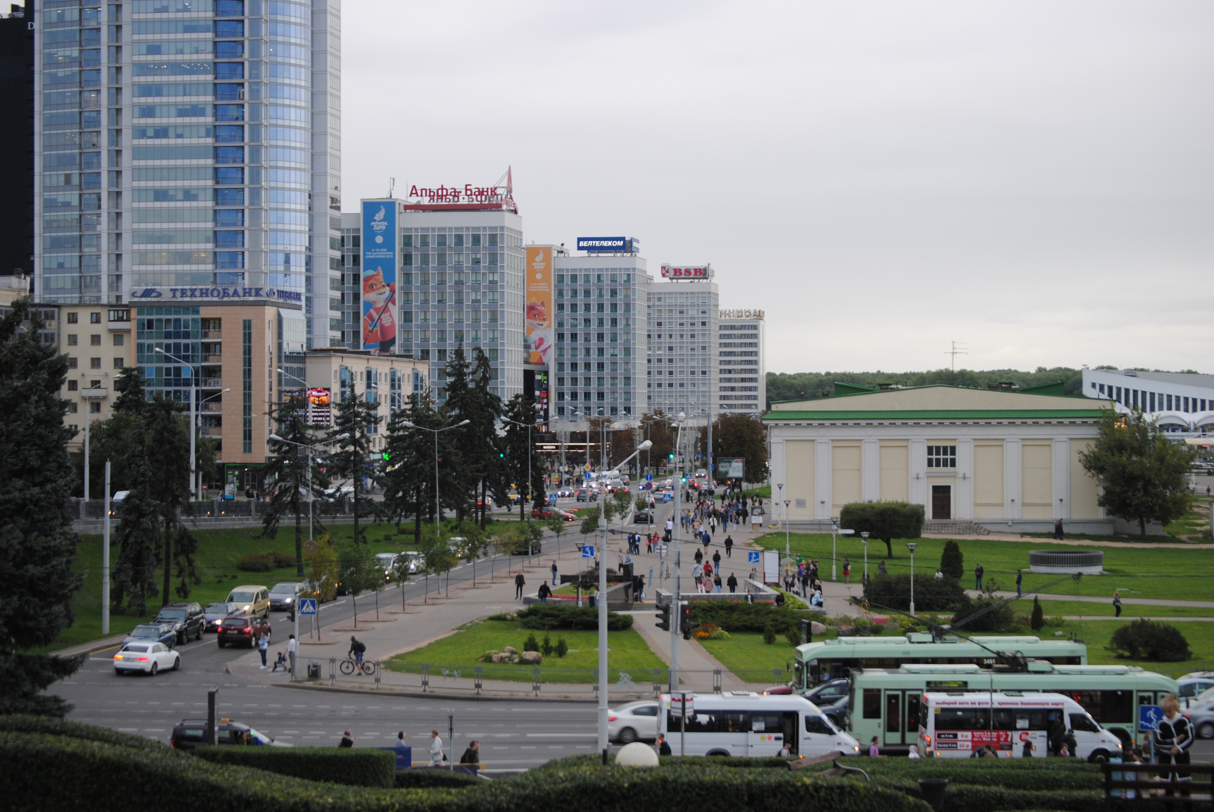 autobuses urbanos de Minsk