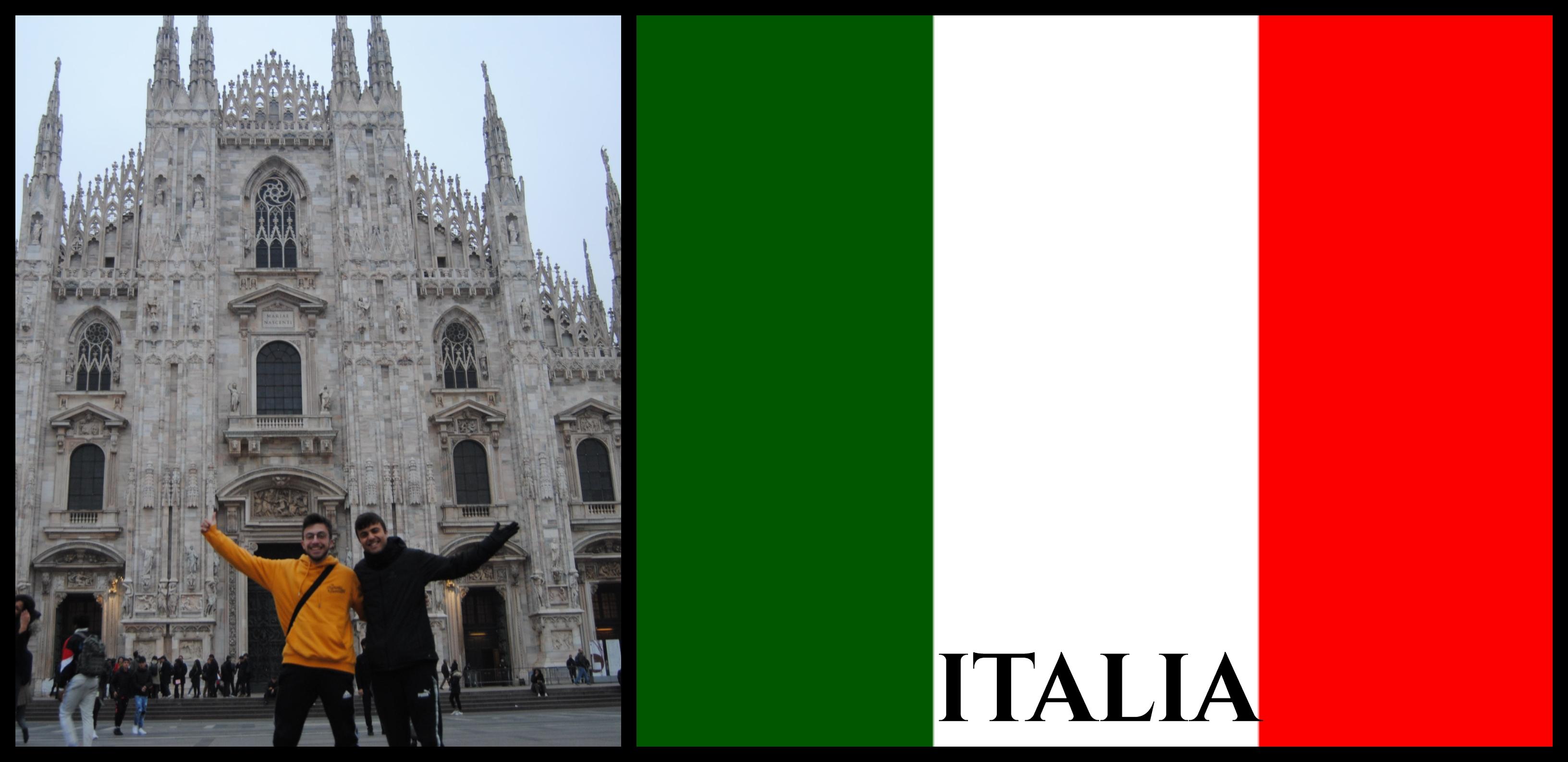 Países visitados: Italia