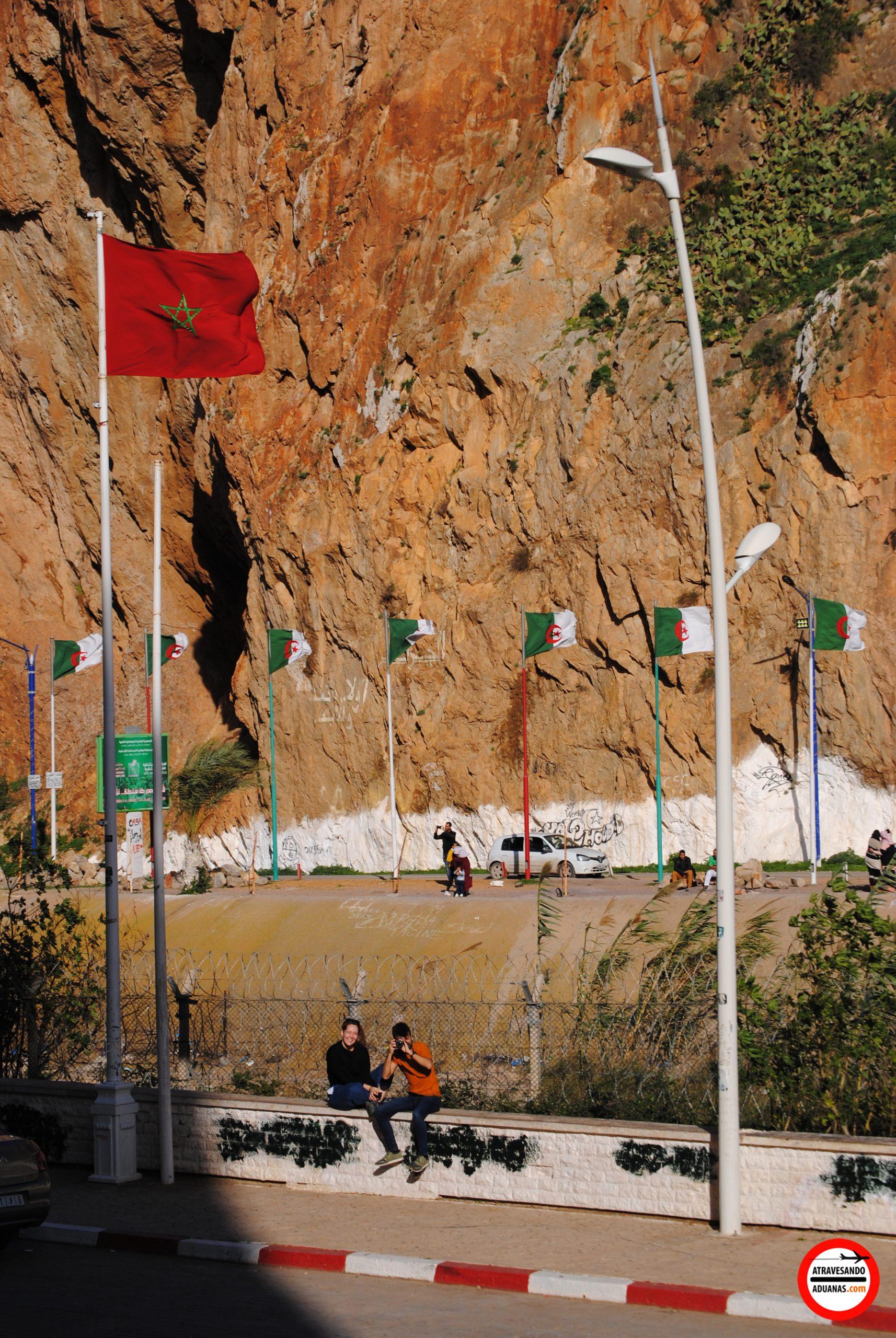 frontera marruecos y argelia en saïdia
