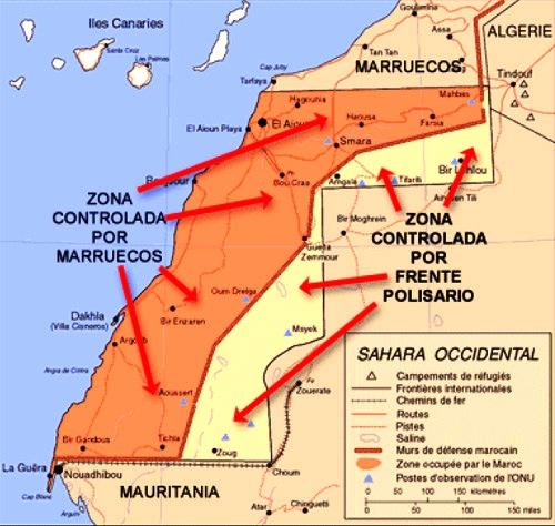Situación en el Sáhara Occidental