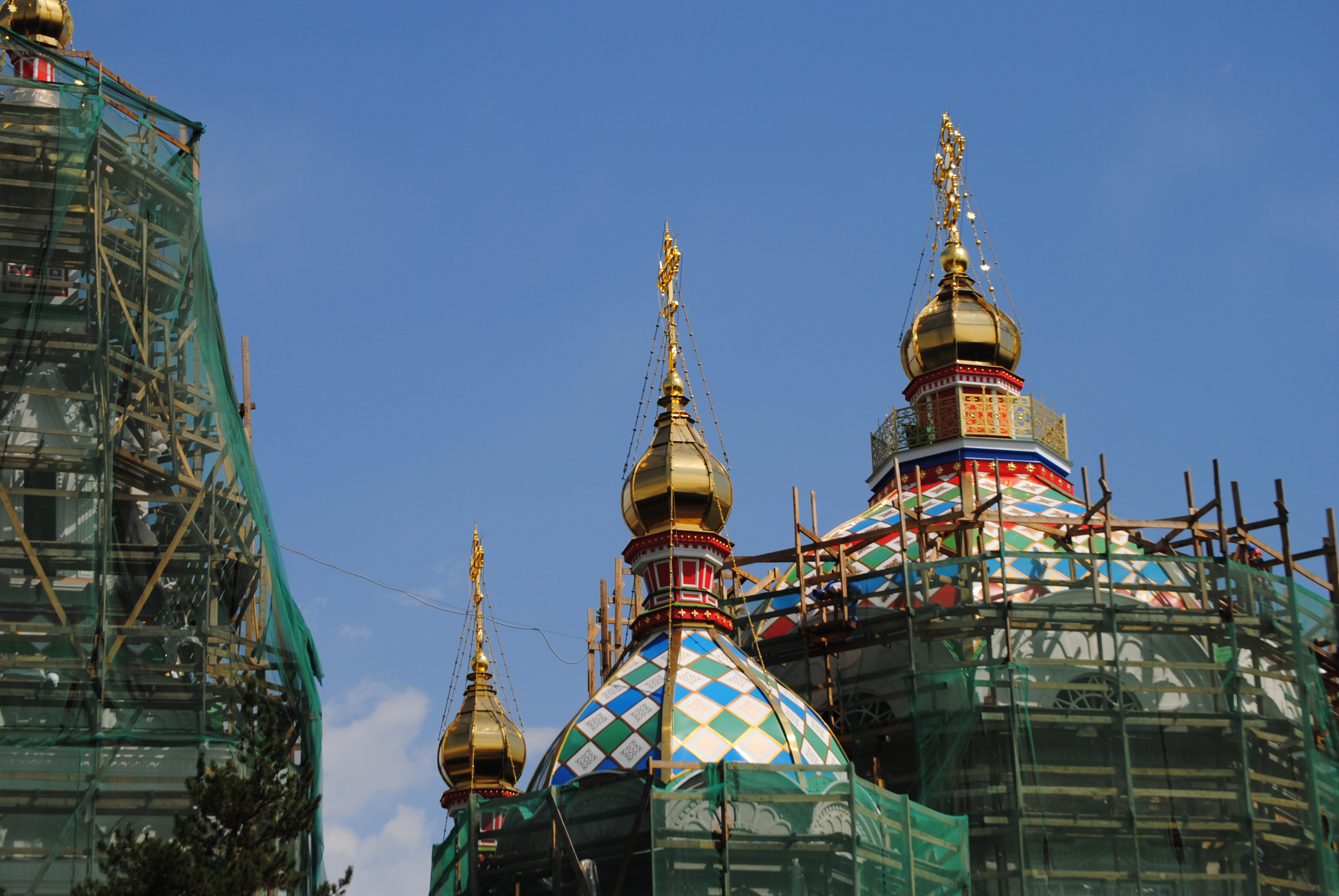 Catedral ortodoxa Zenkov, Almaty