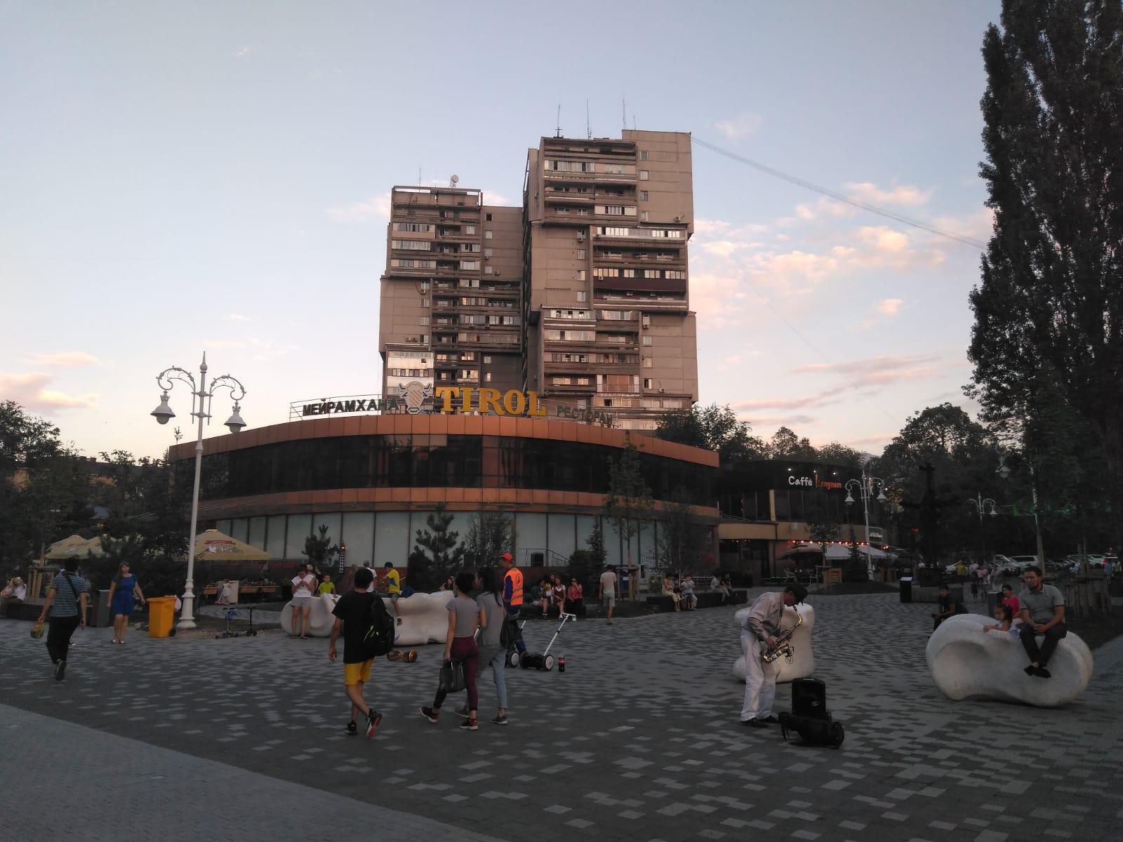 Arquitectura socialista en Almaty