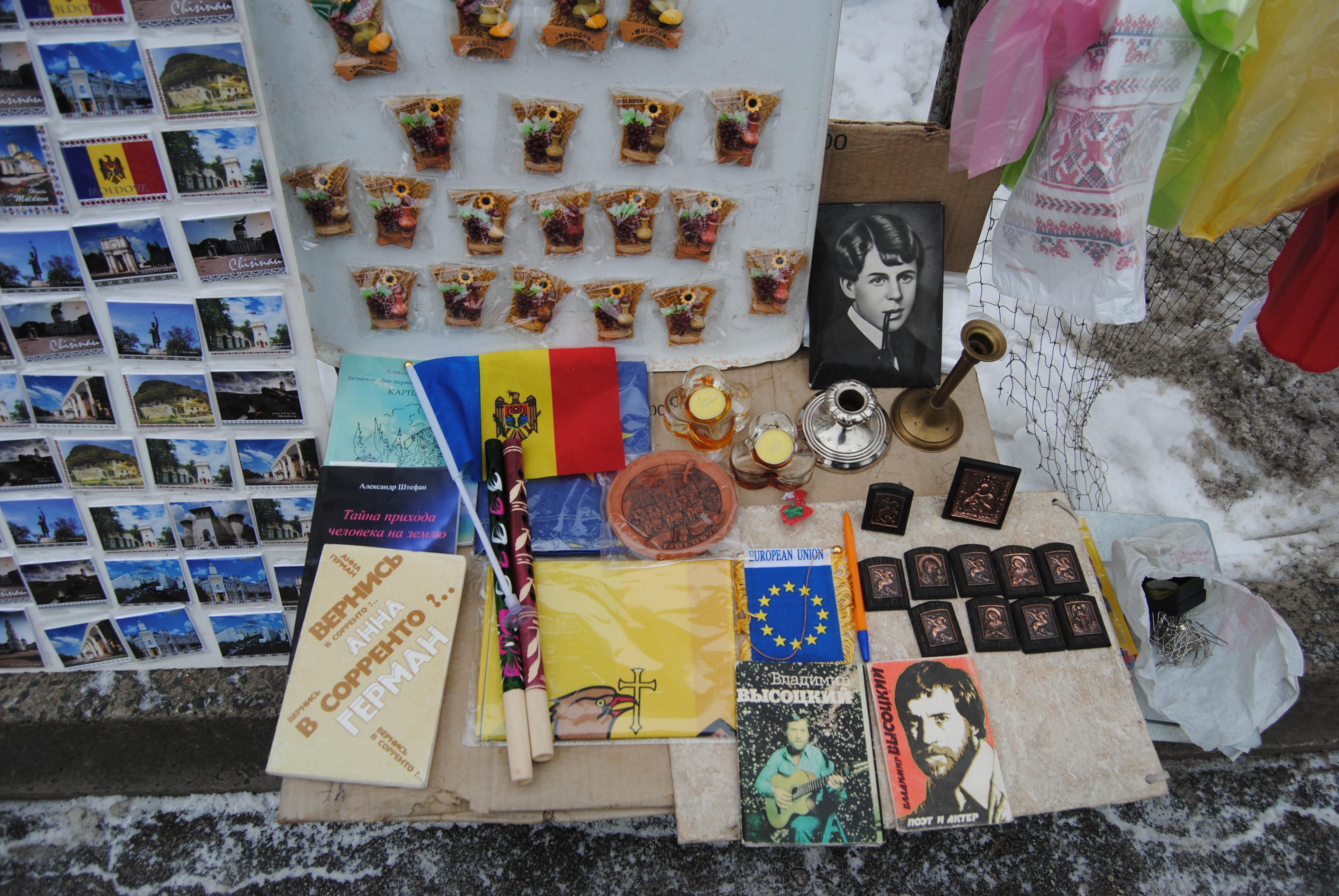 Mercadillo del bulevar Stefan Cel Mare, Chisinau