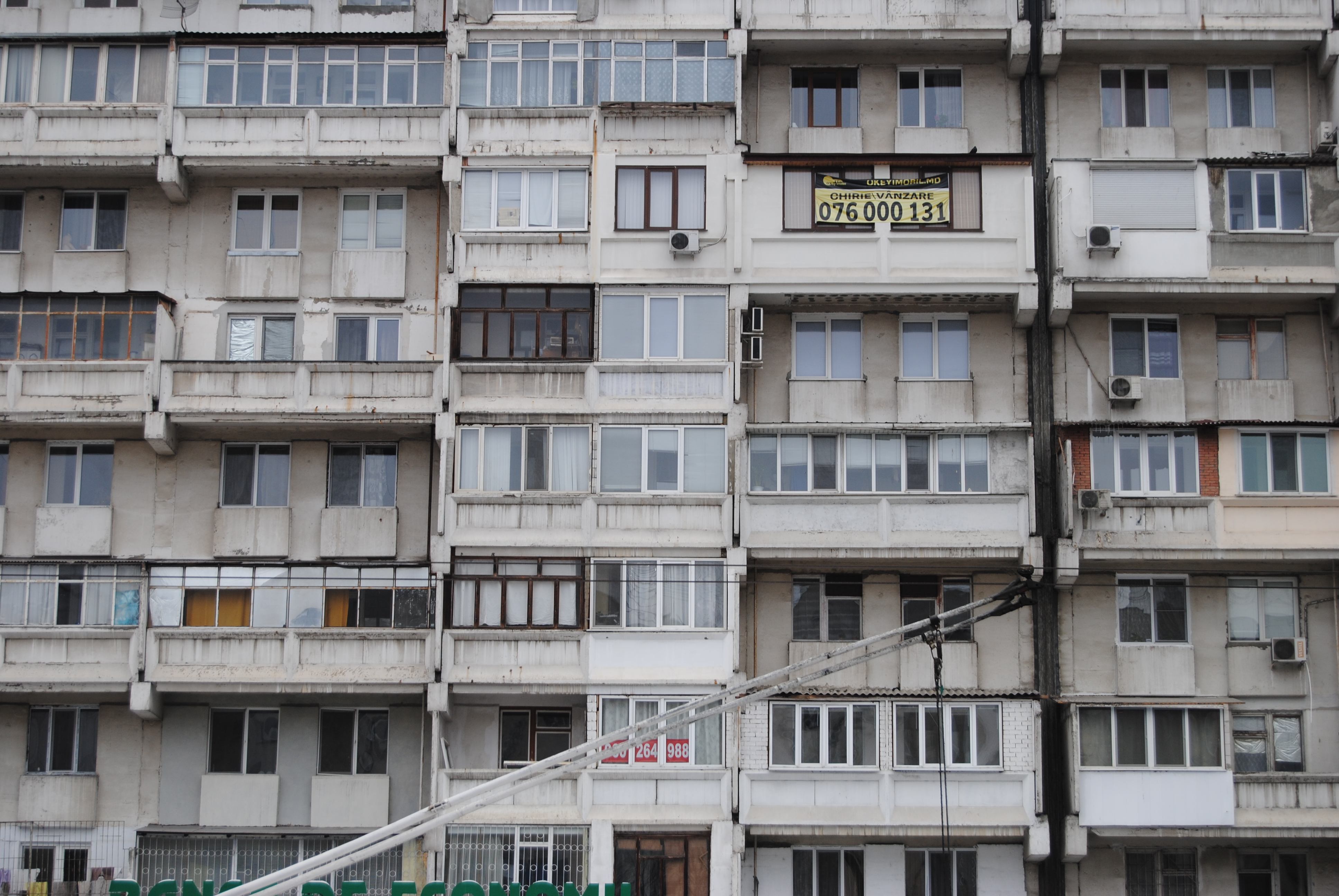 Bloques de pisos en Chisinau