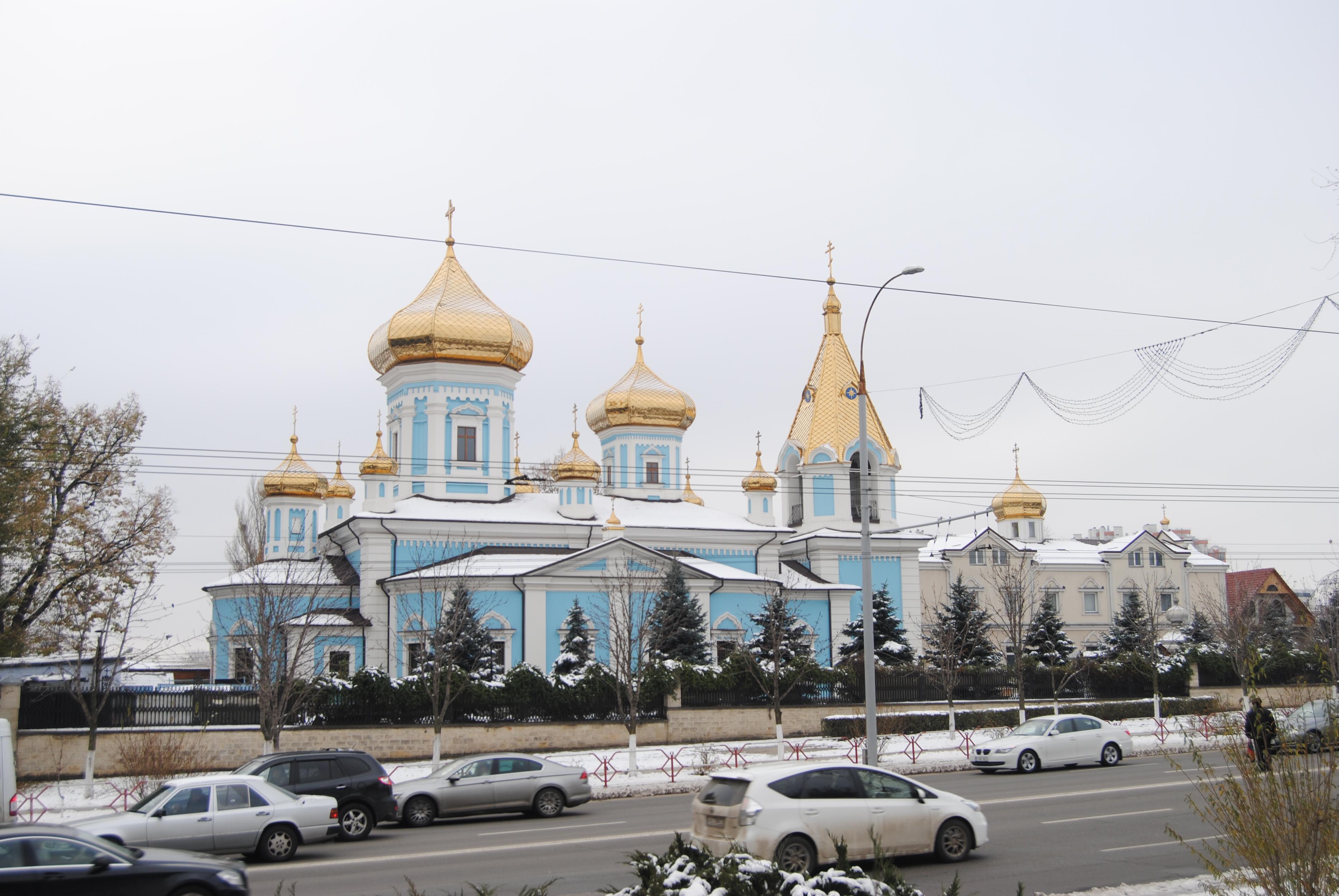 Monasterio de Ciuflea, Chisinau
