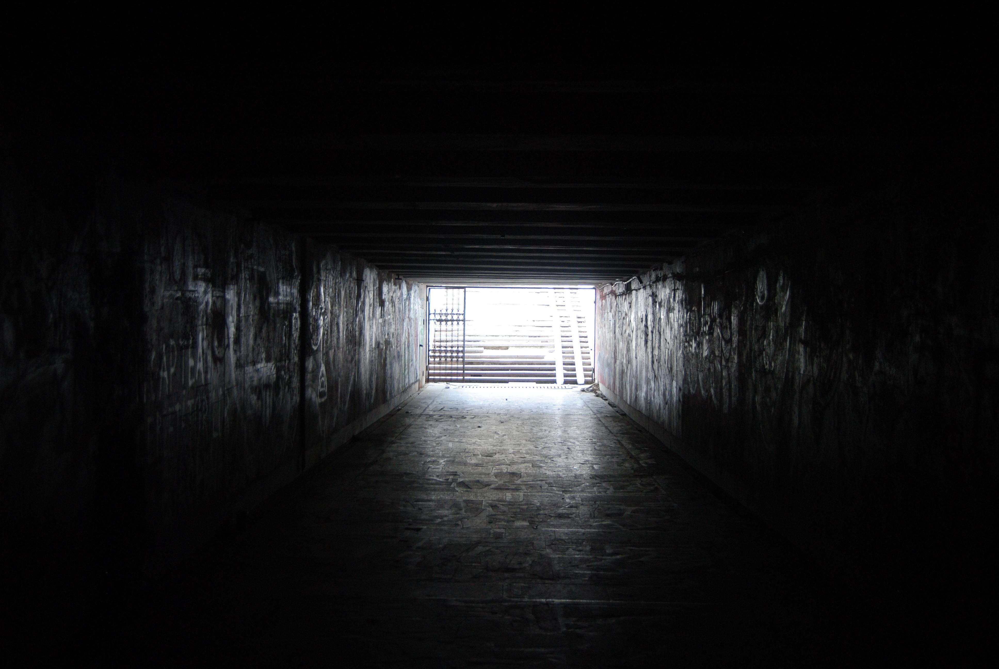 El paso subterráneo bajo la plaza de las Naciones Unidas en Chisinau
