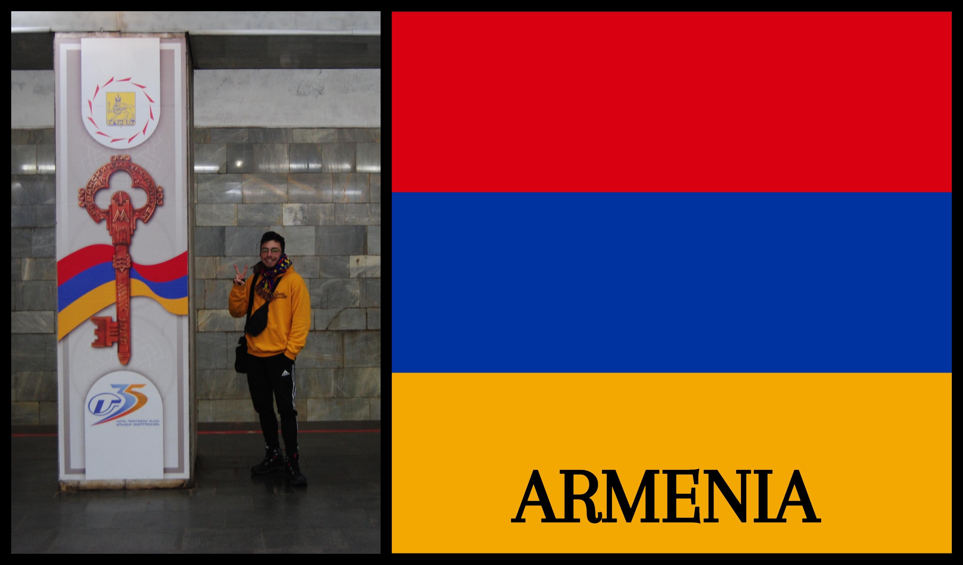 Países visitados: Armenia