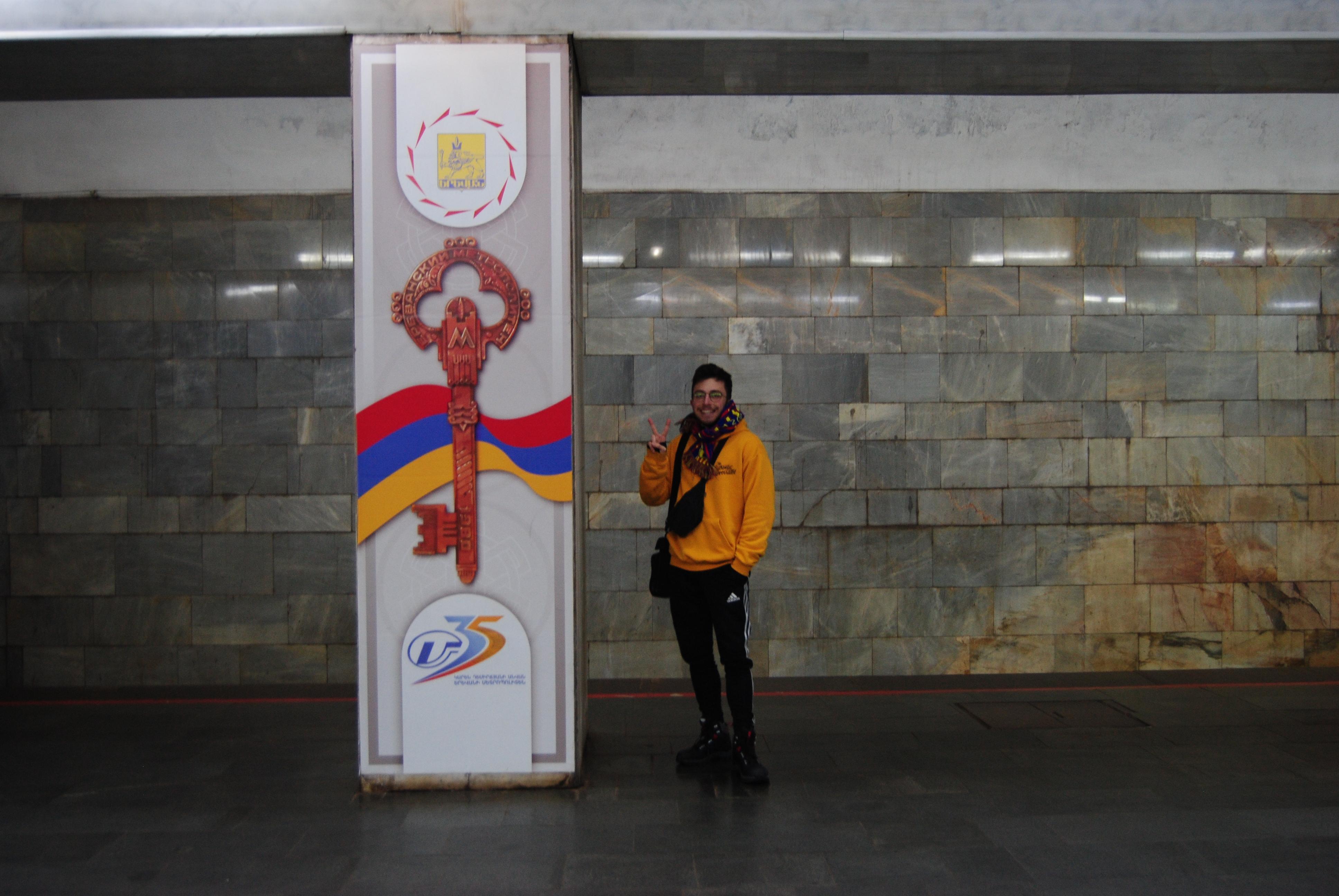metro de Erevan