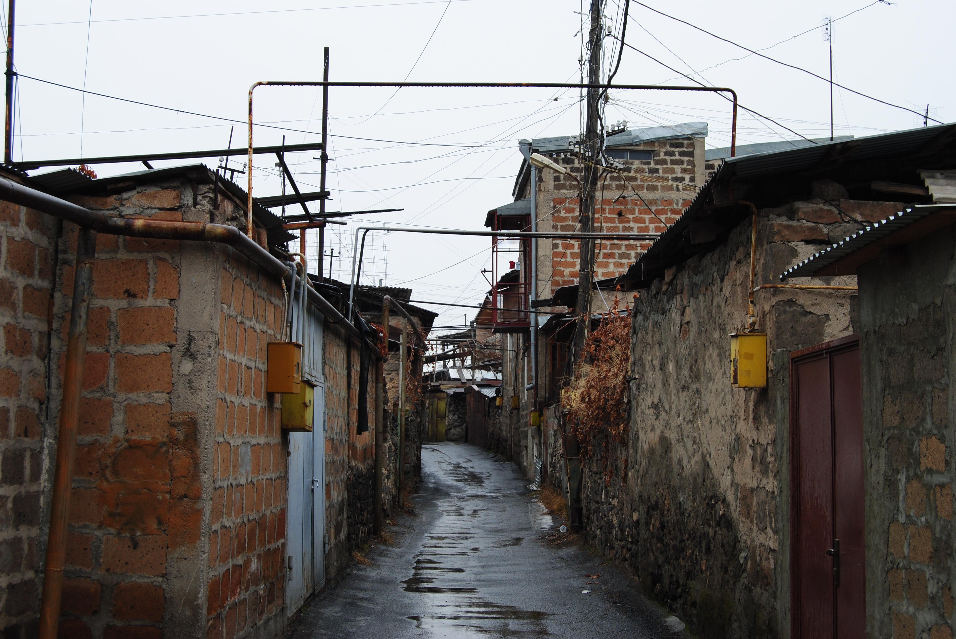 Sistema de gas en Ereván