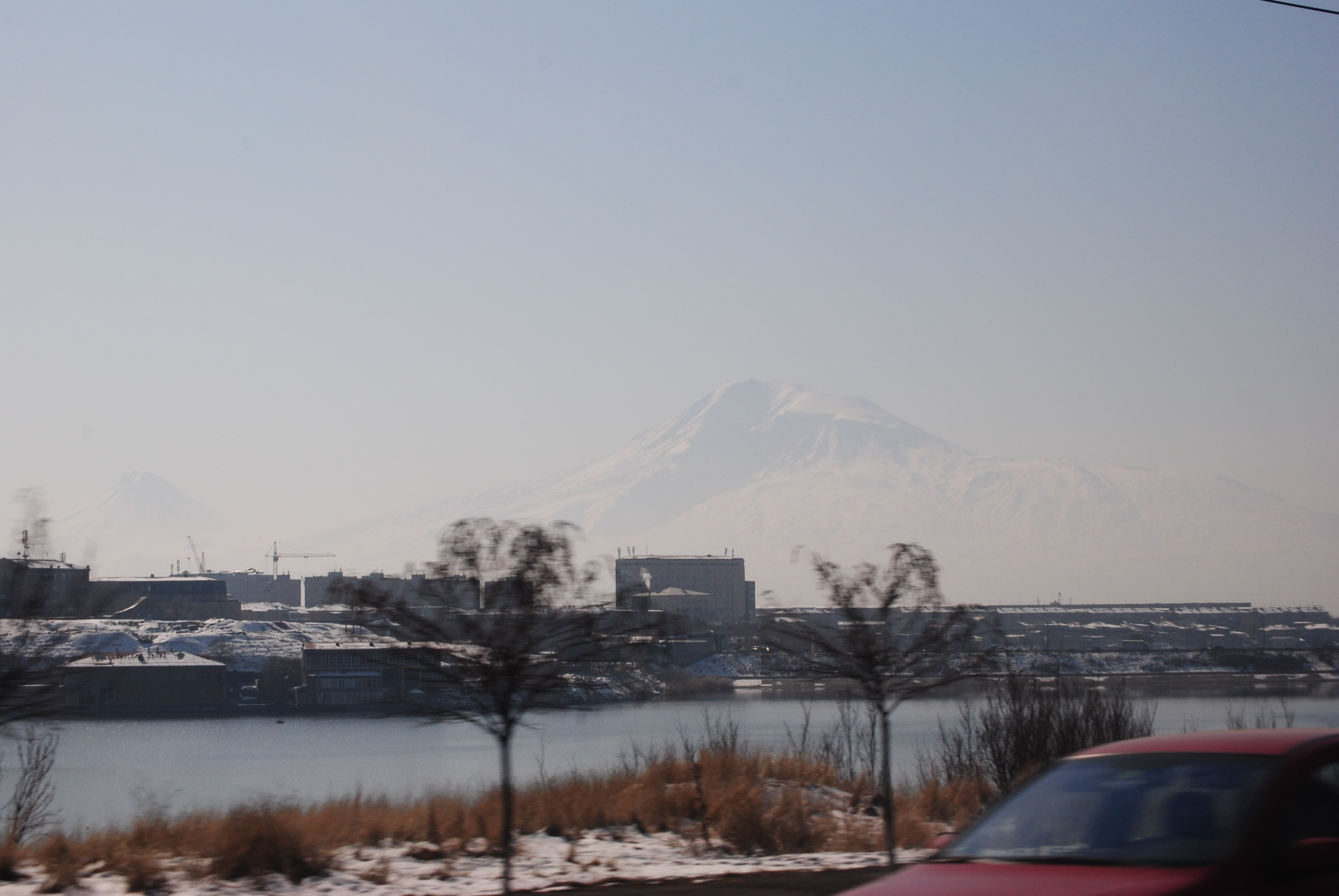 Monte Ararat de Ereván