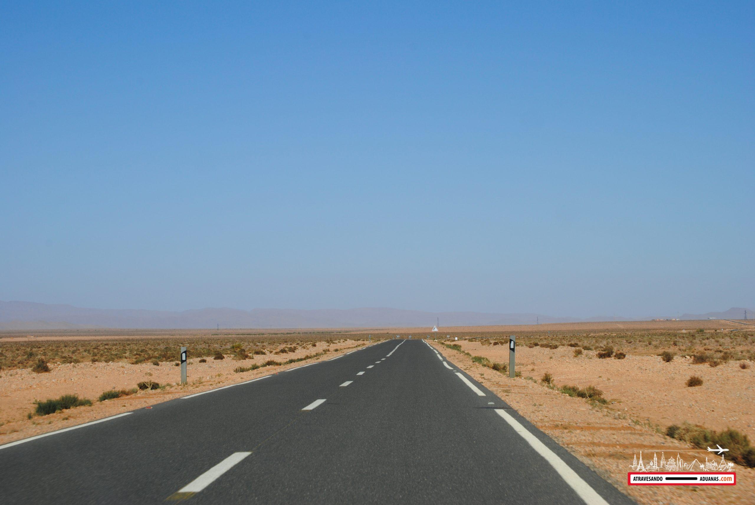 carretera hacia figuig
