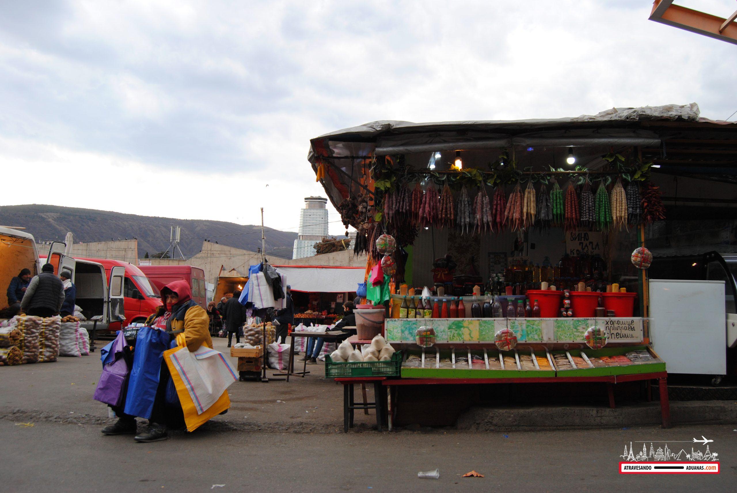 Tbilisi mercado de Dezerter