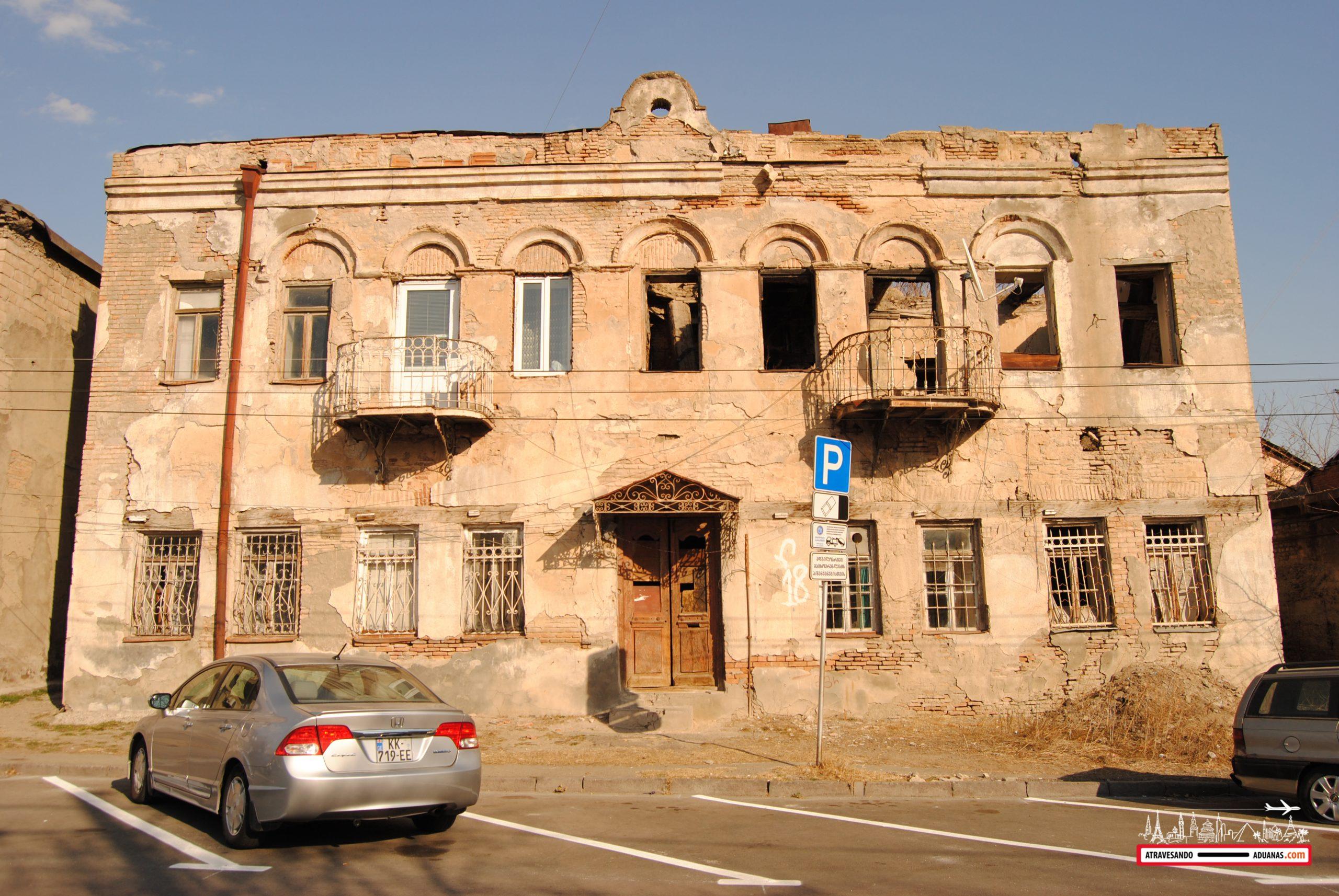 barrio de avlabari, tbilisi