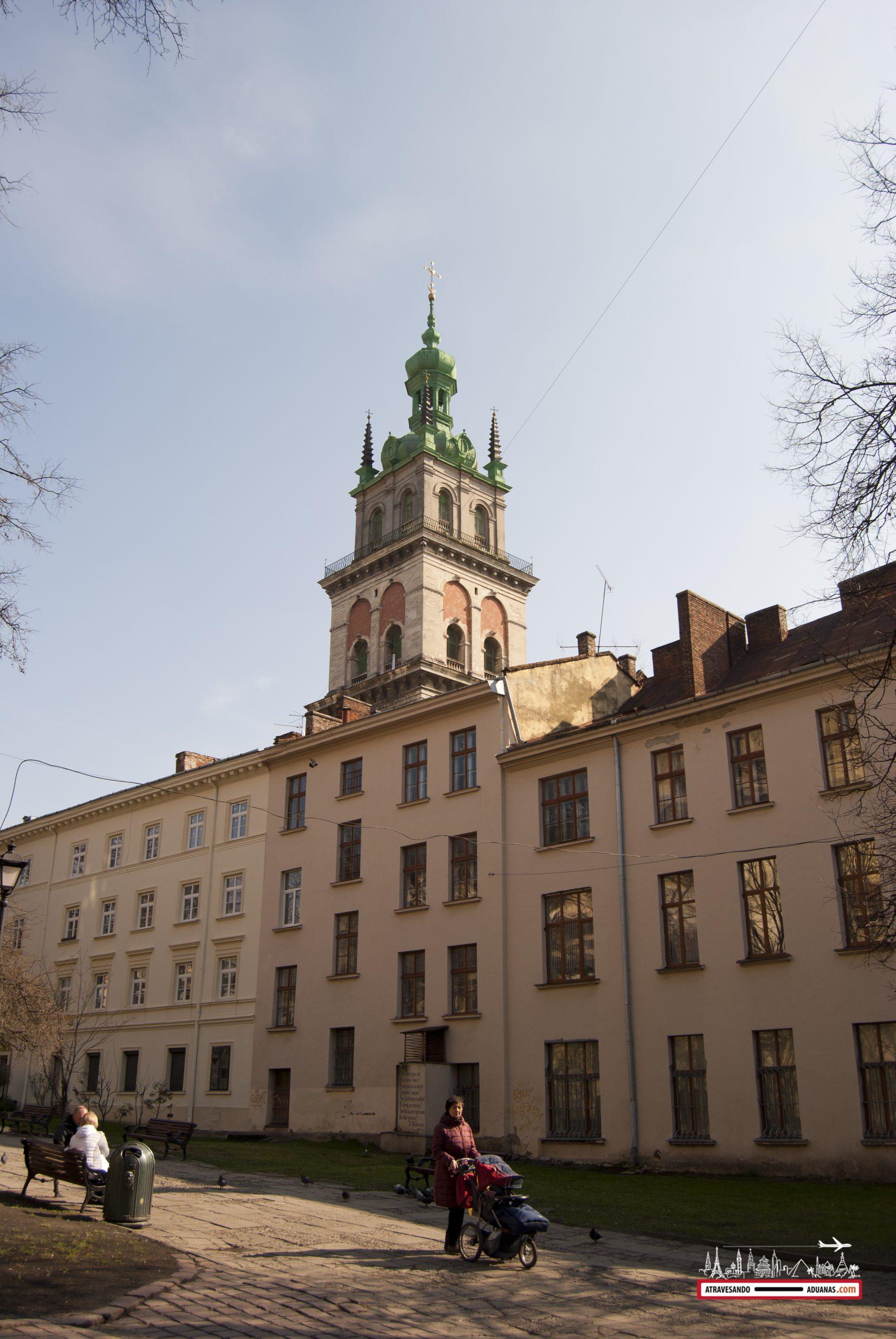 Iglesia de la Dormición en Lviv