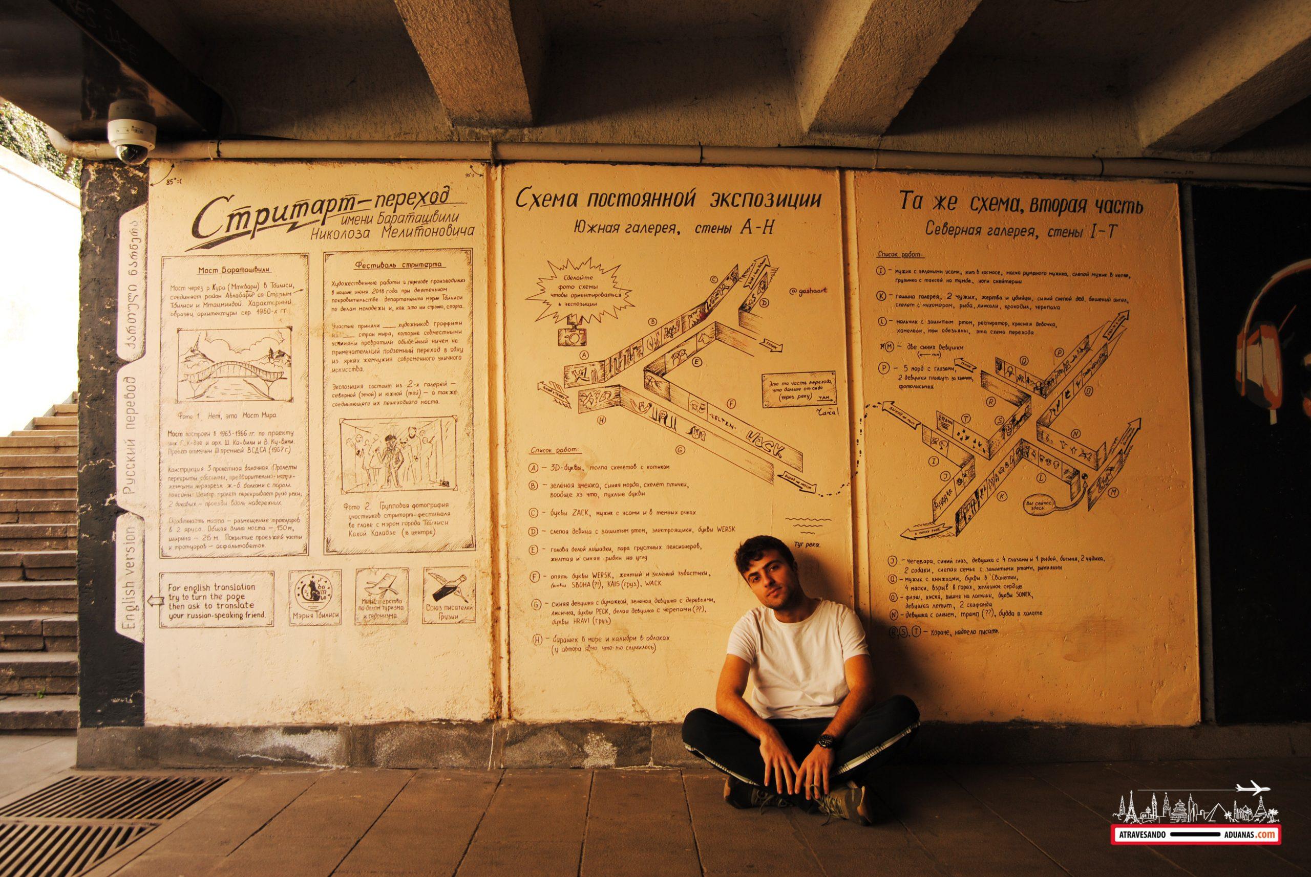 arte callejero en Tbilisi