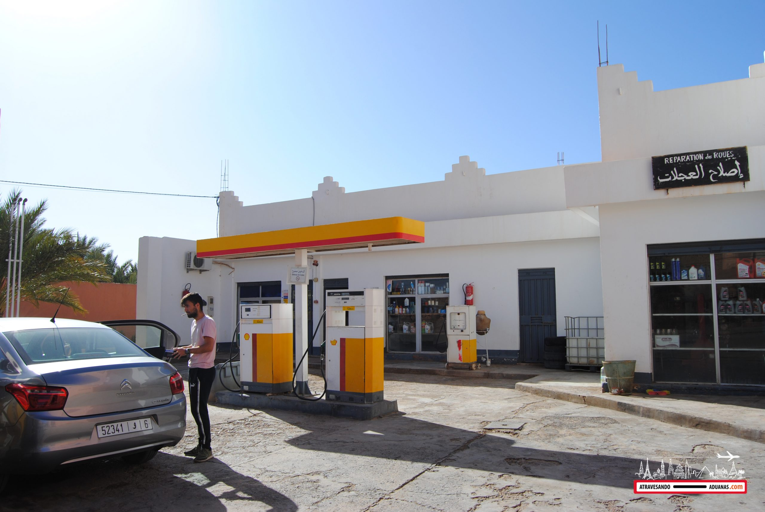 gasolinera shell in Figuig