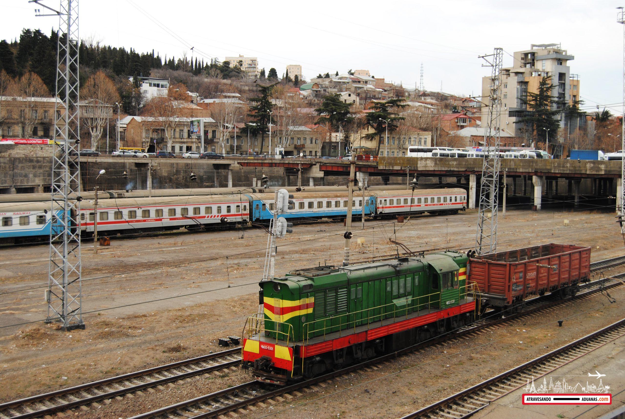 estación de tren de Tbilisi