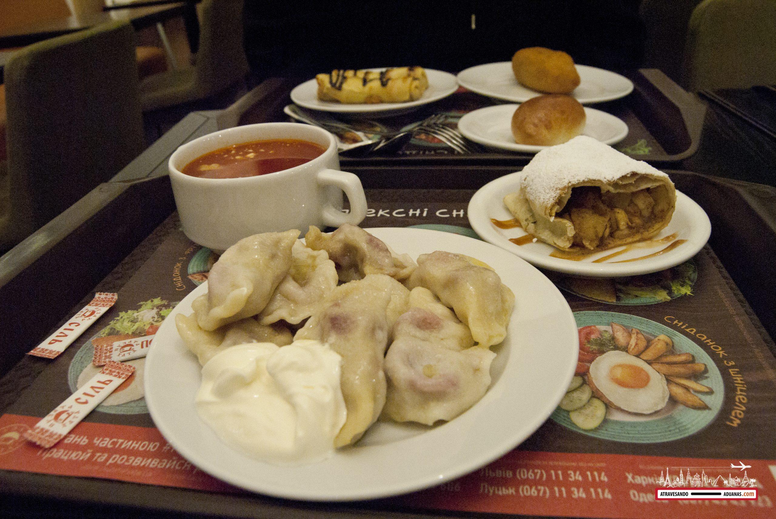 comida ucraniana en lviv