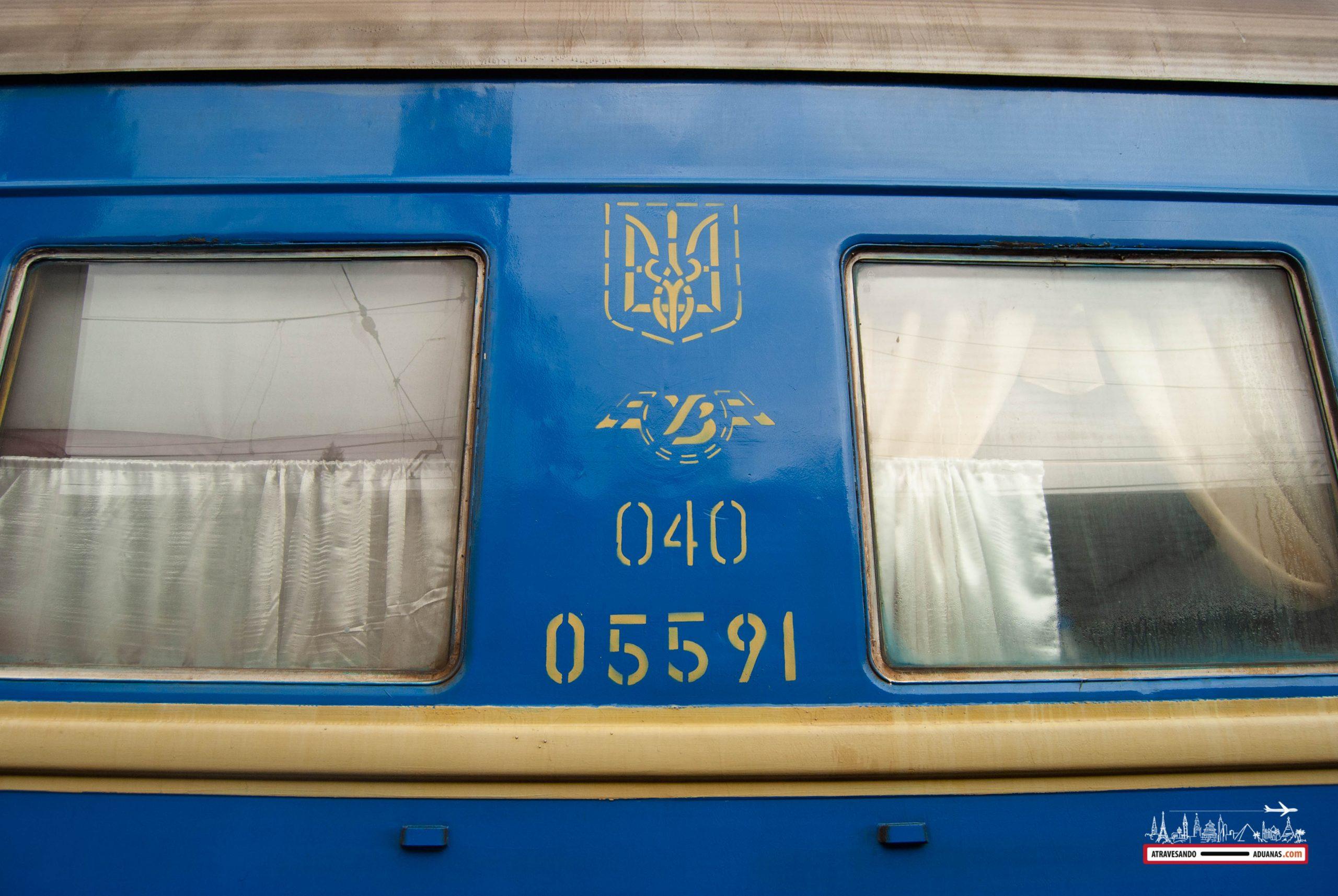 vagón ucraniano