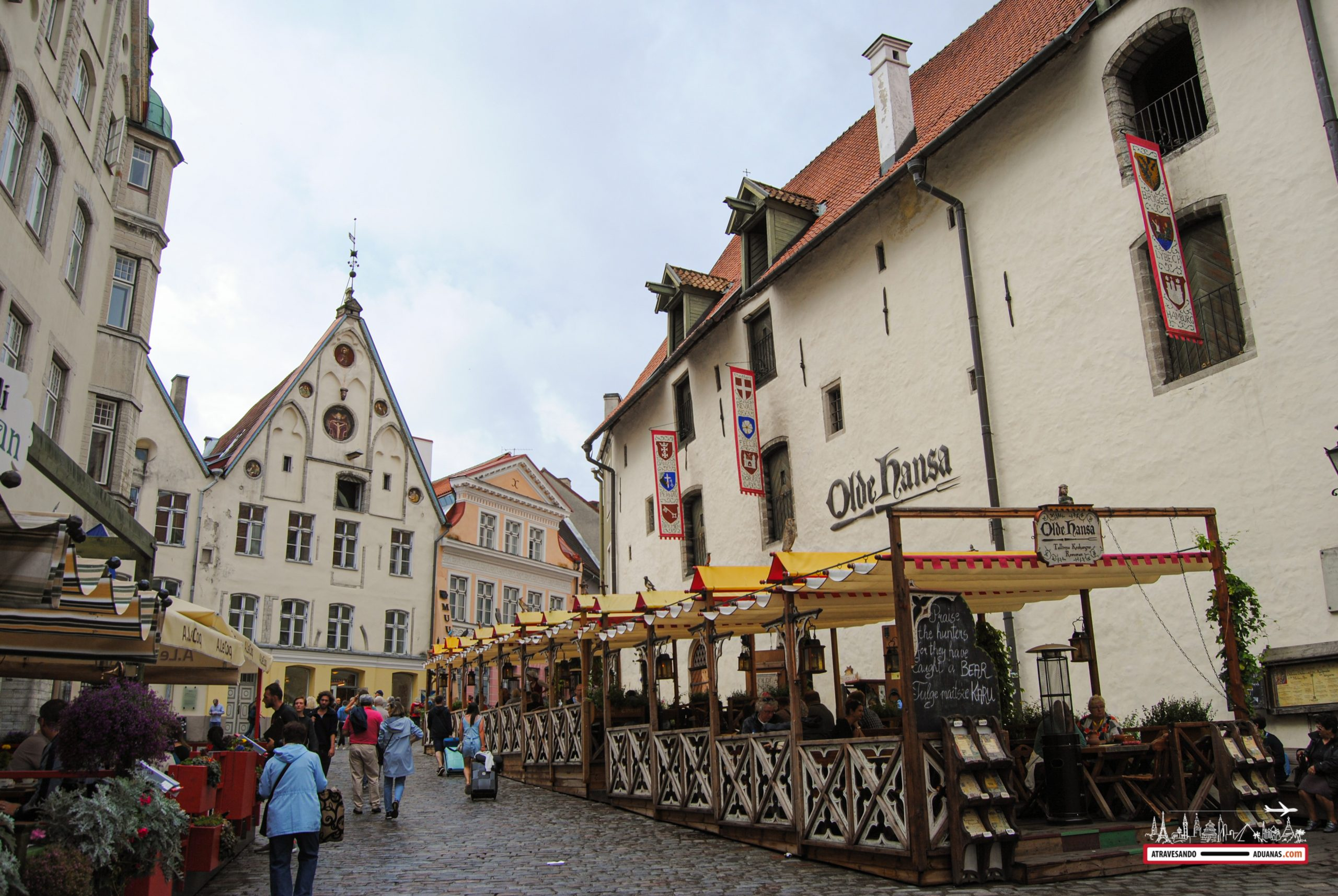 Centro histórico de Tallinn, 2019