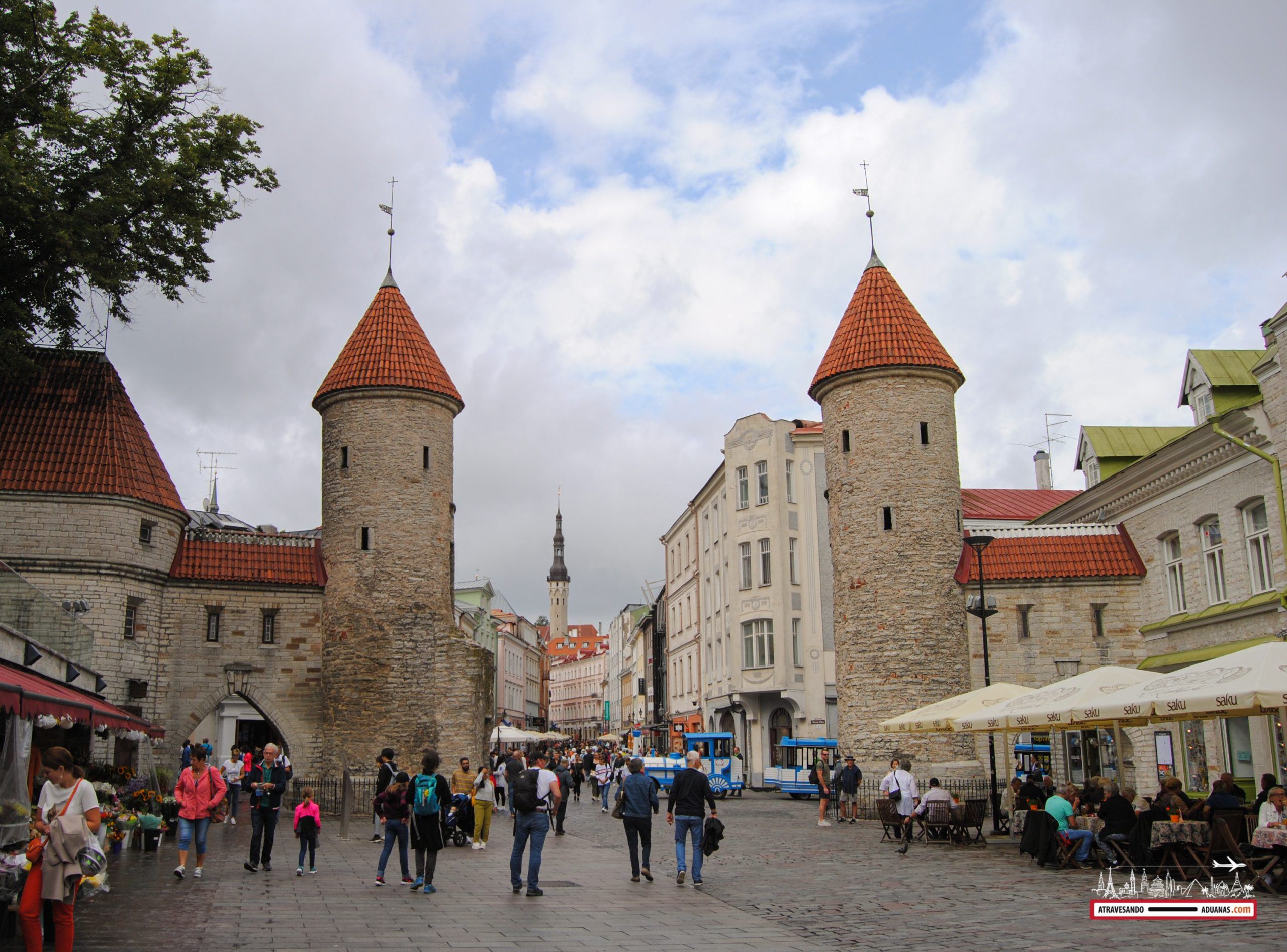 Puertas del casco histórico de Tallinn