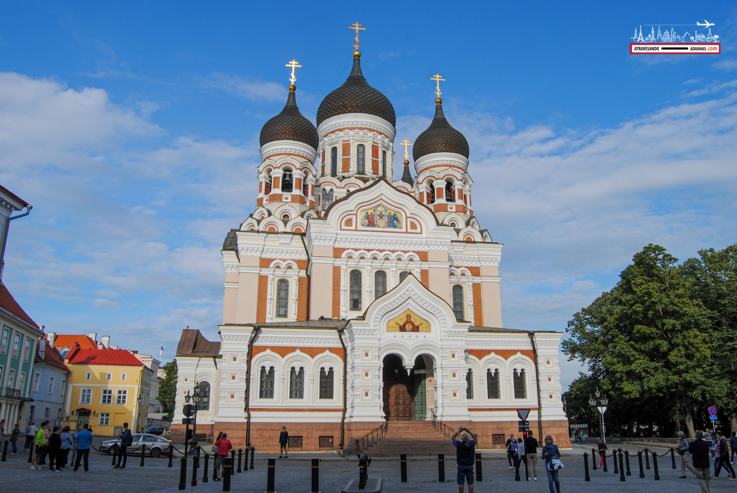Catedral ortodoxa de San Alexander Nevsky, en Tallinn