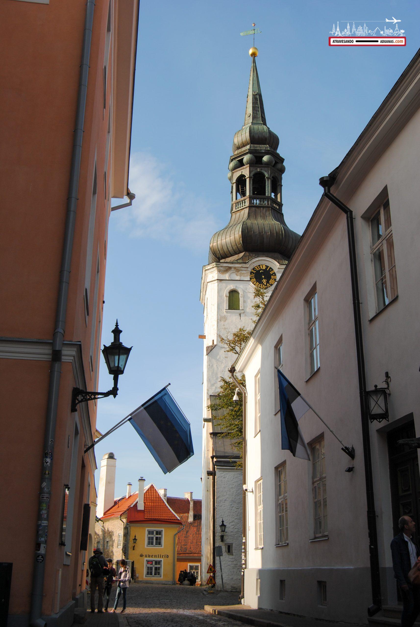Callejuela en Toompea, Tallinn