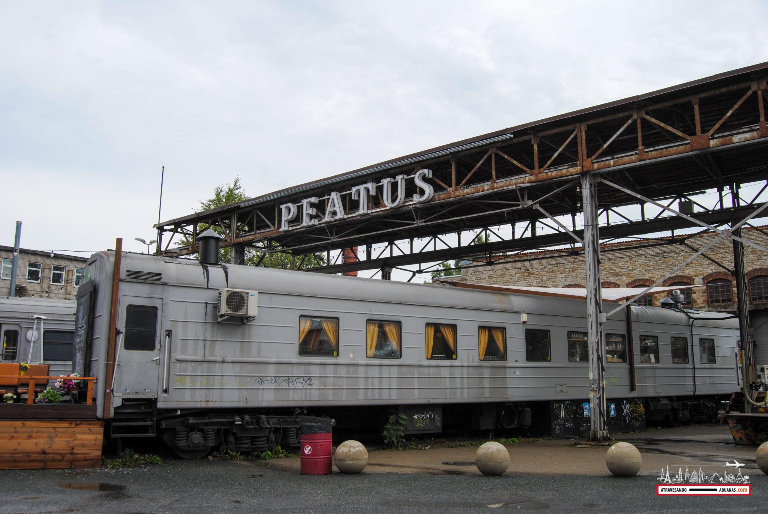 vagón de tren - restaurante, tallinn