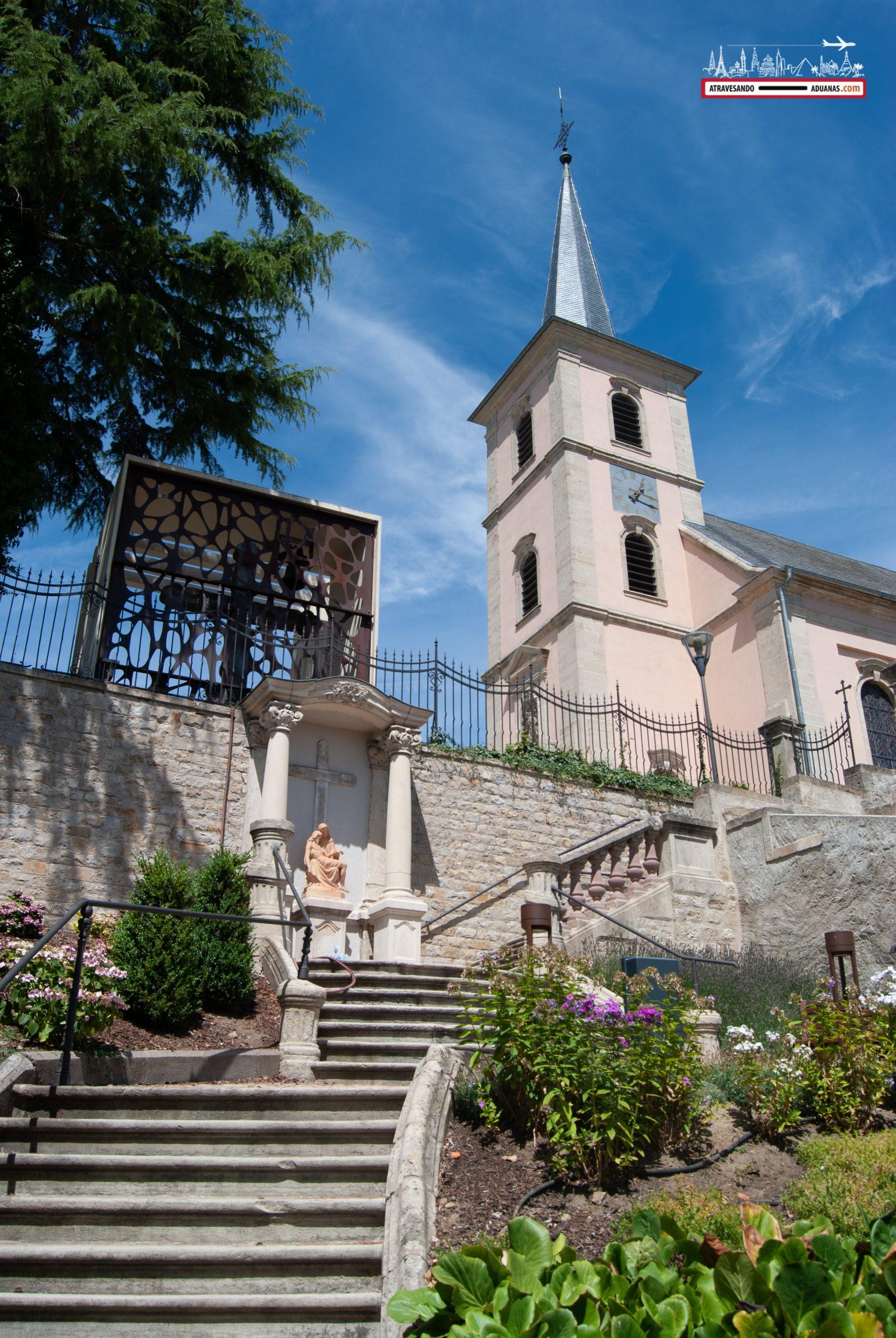 Iglesia en Mondorf-les-Bains