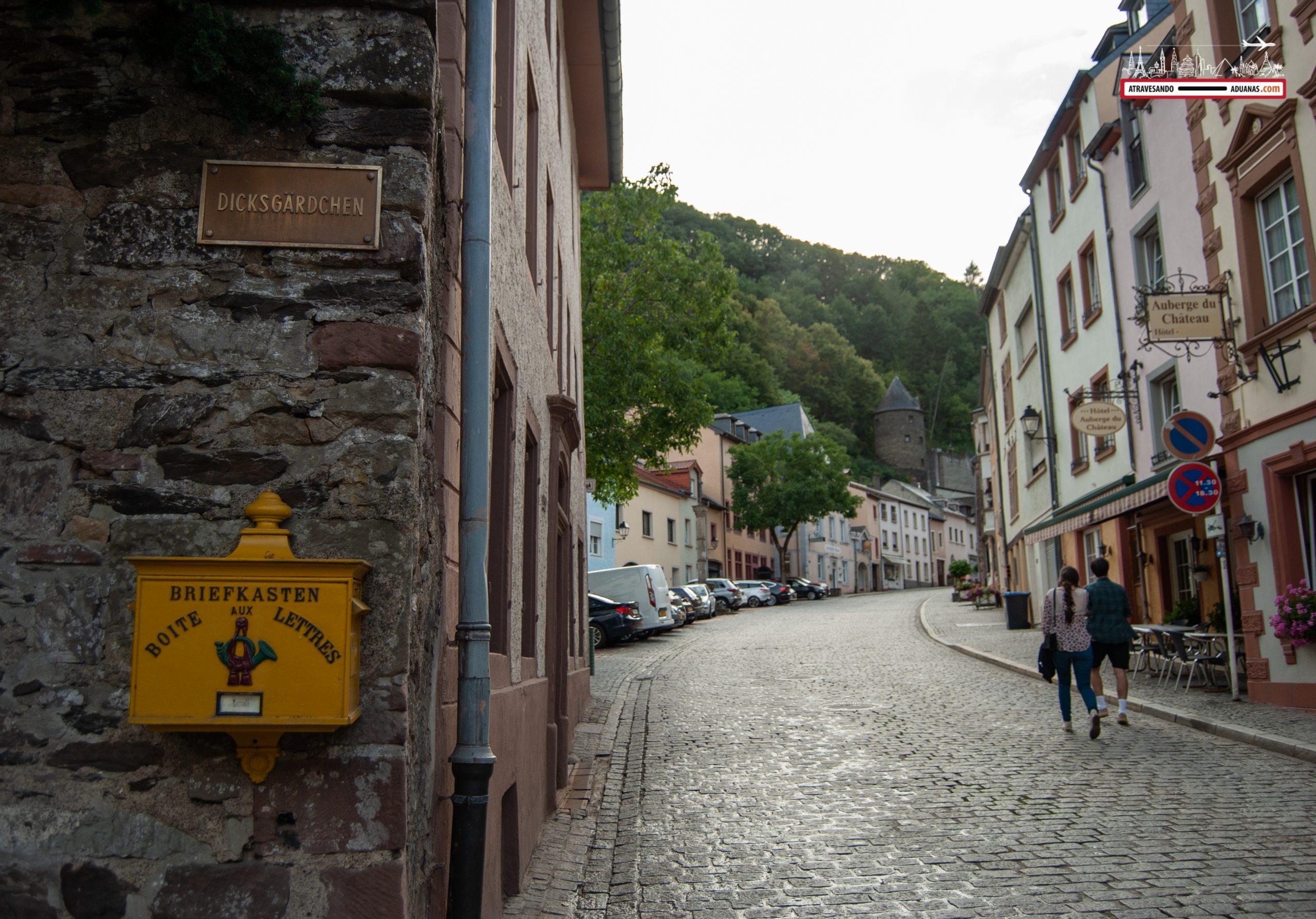Callejones de Vianden, Luxemburgo