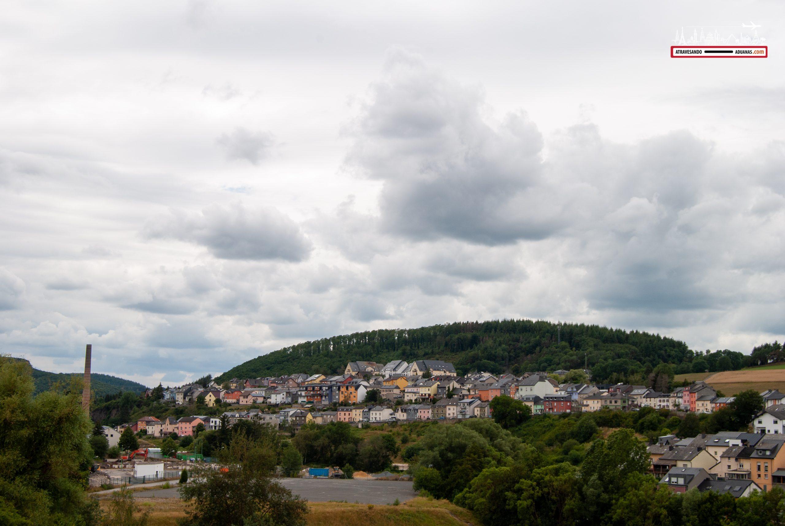 Casitas de colores en Wiltz, Luxemburgo