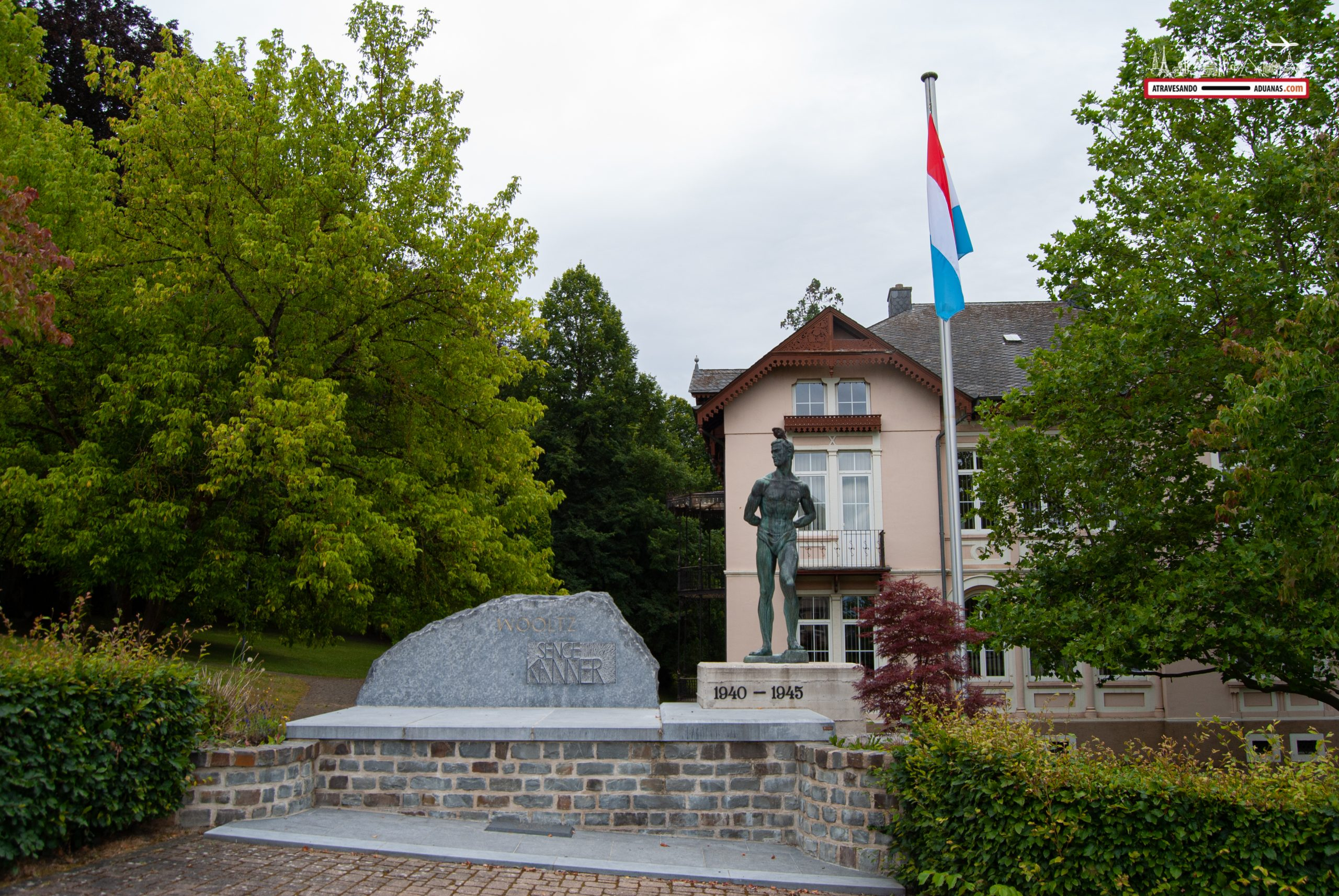 Memorial de la Segunda Guerra Mundial en Wiltz, Luxemburgo