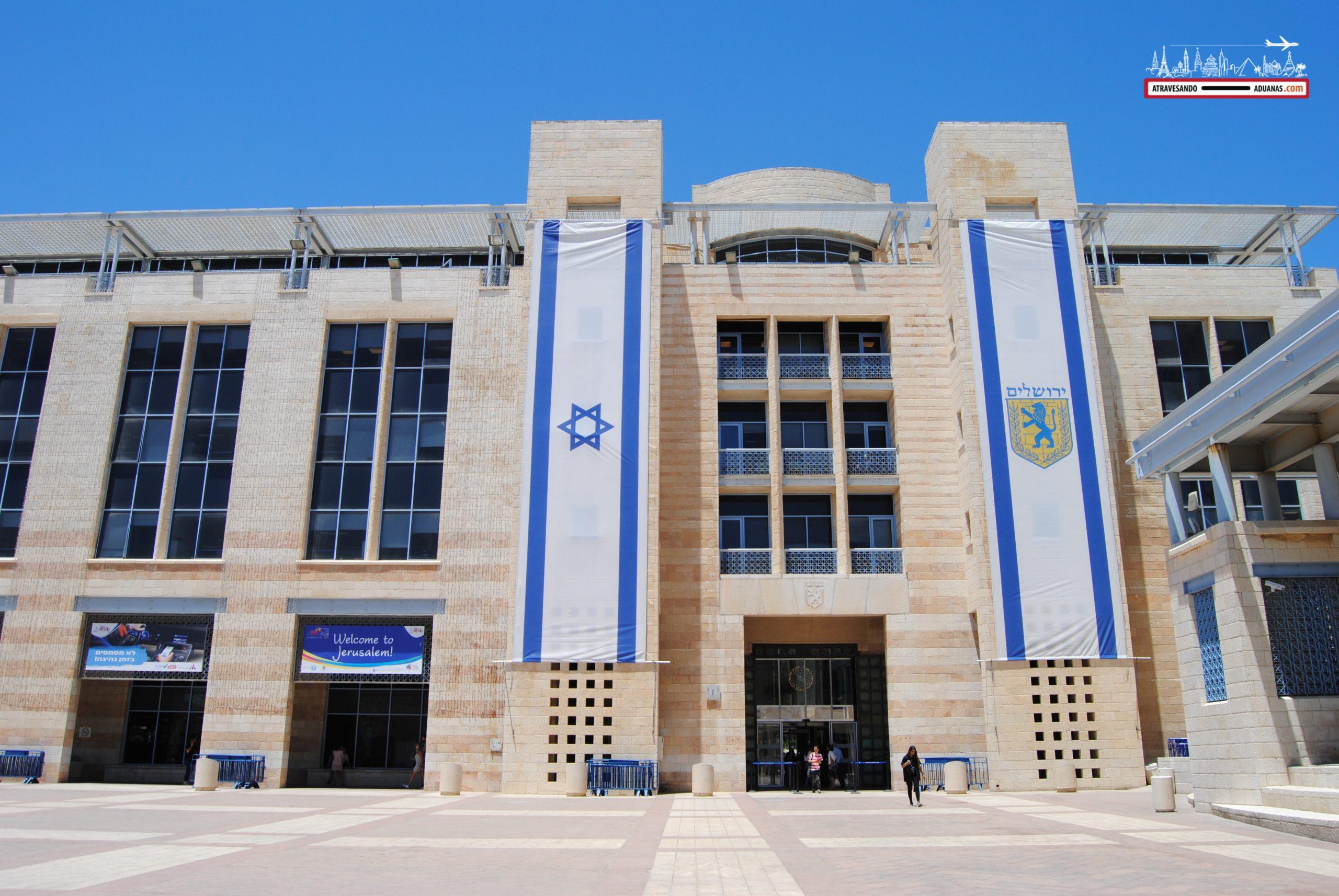 Edificio de la Universidad de Jerusalén en Israel