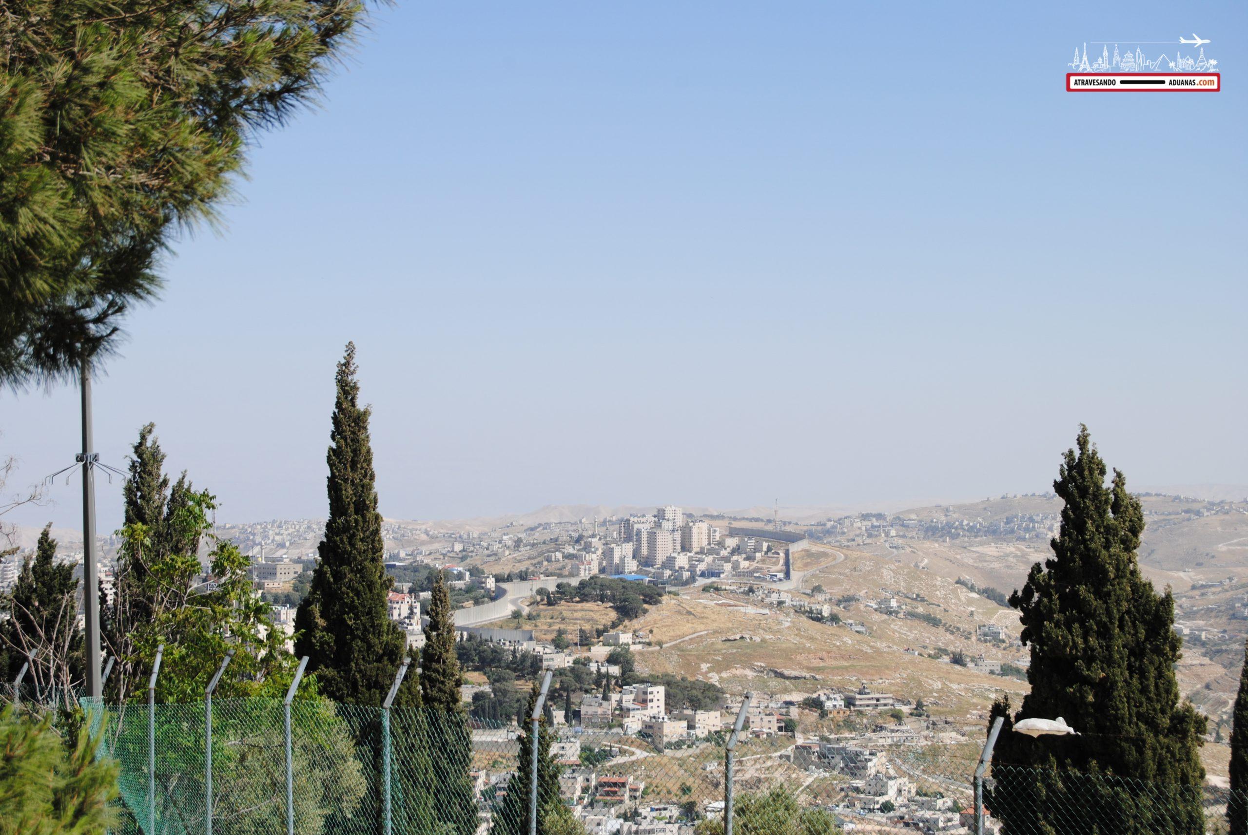 El Muro de la Vergüenza en Jerusalén