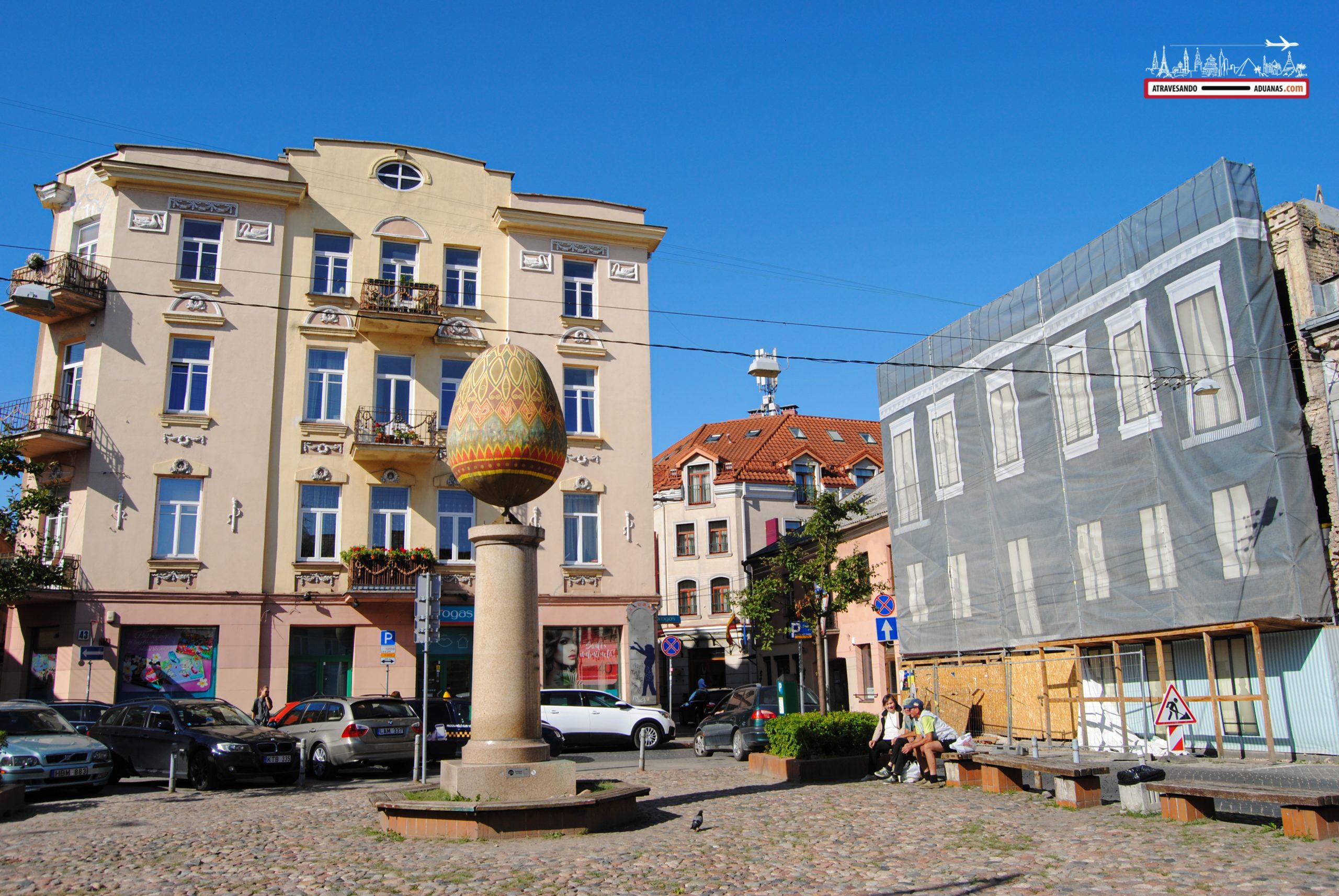 Huevo en Vilnius
