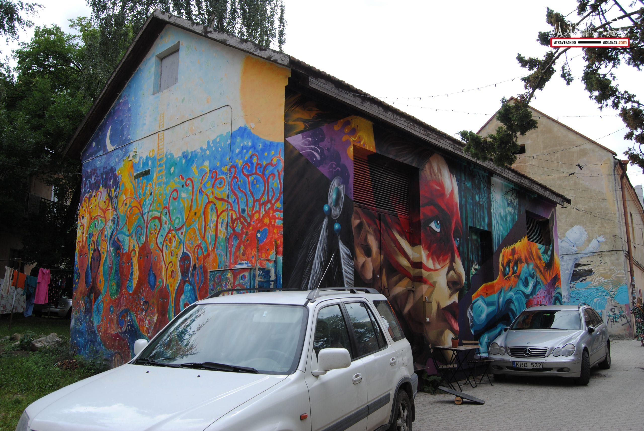Arte urbano en Uzupis