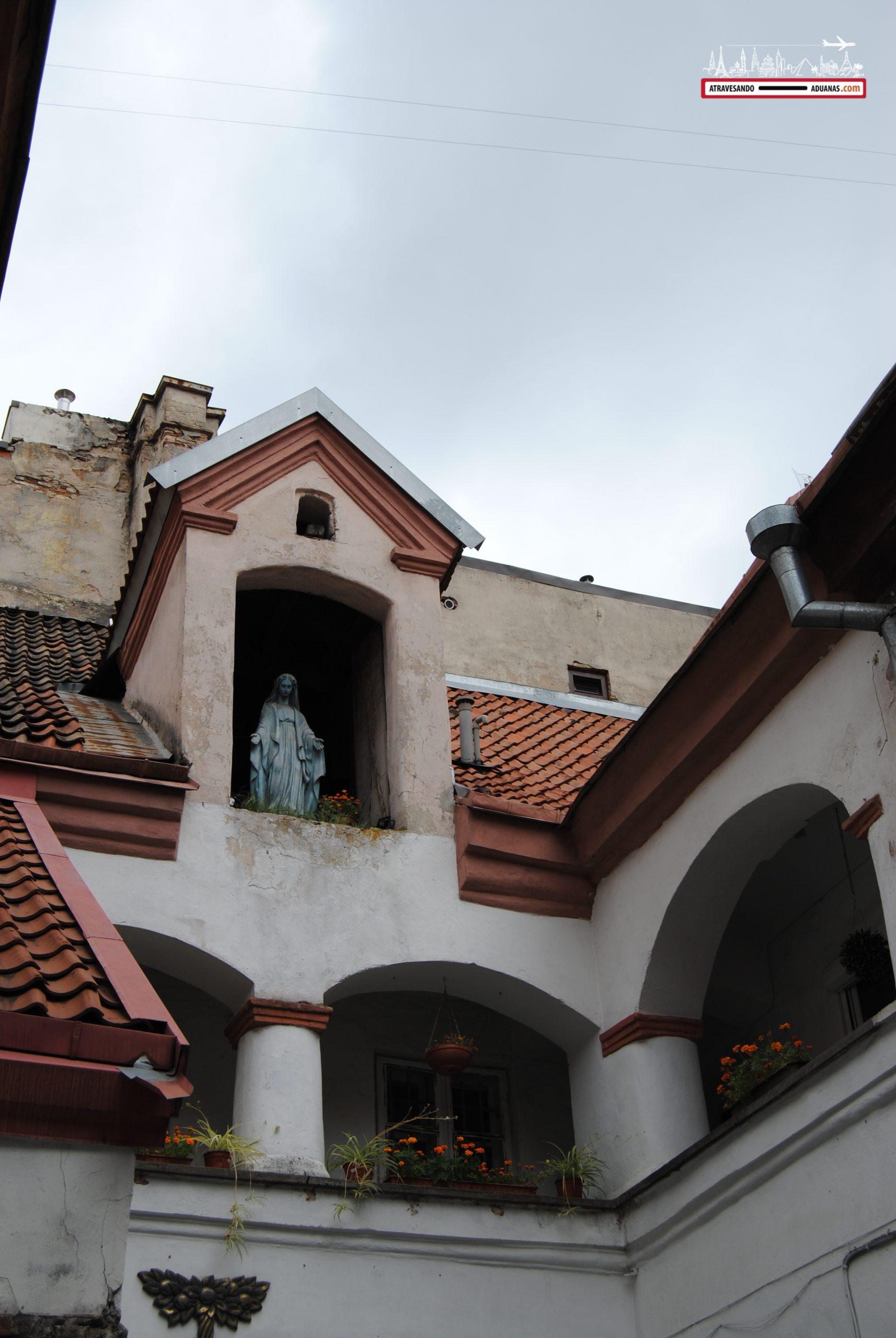 Sitio en el que se rodó una película en Vilnius