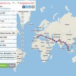 Camino a Singapur: la ruta