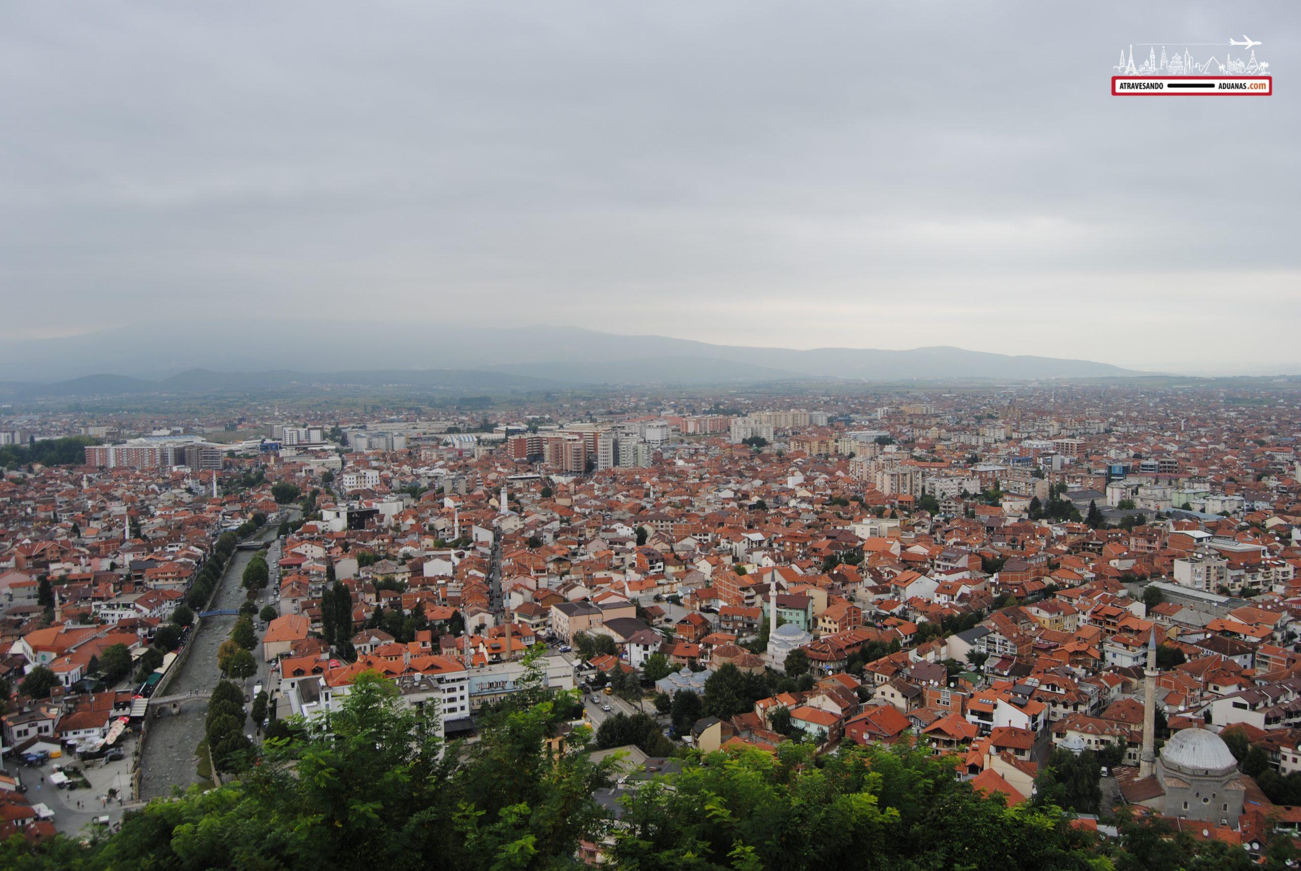 Tejados en Prizren