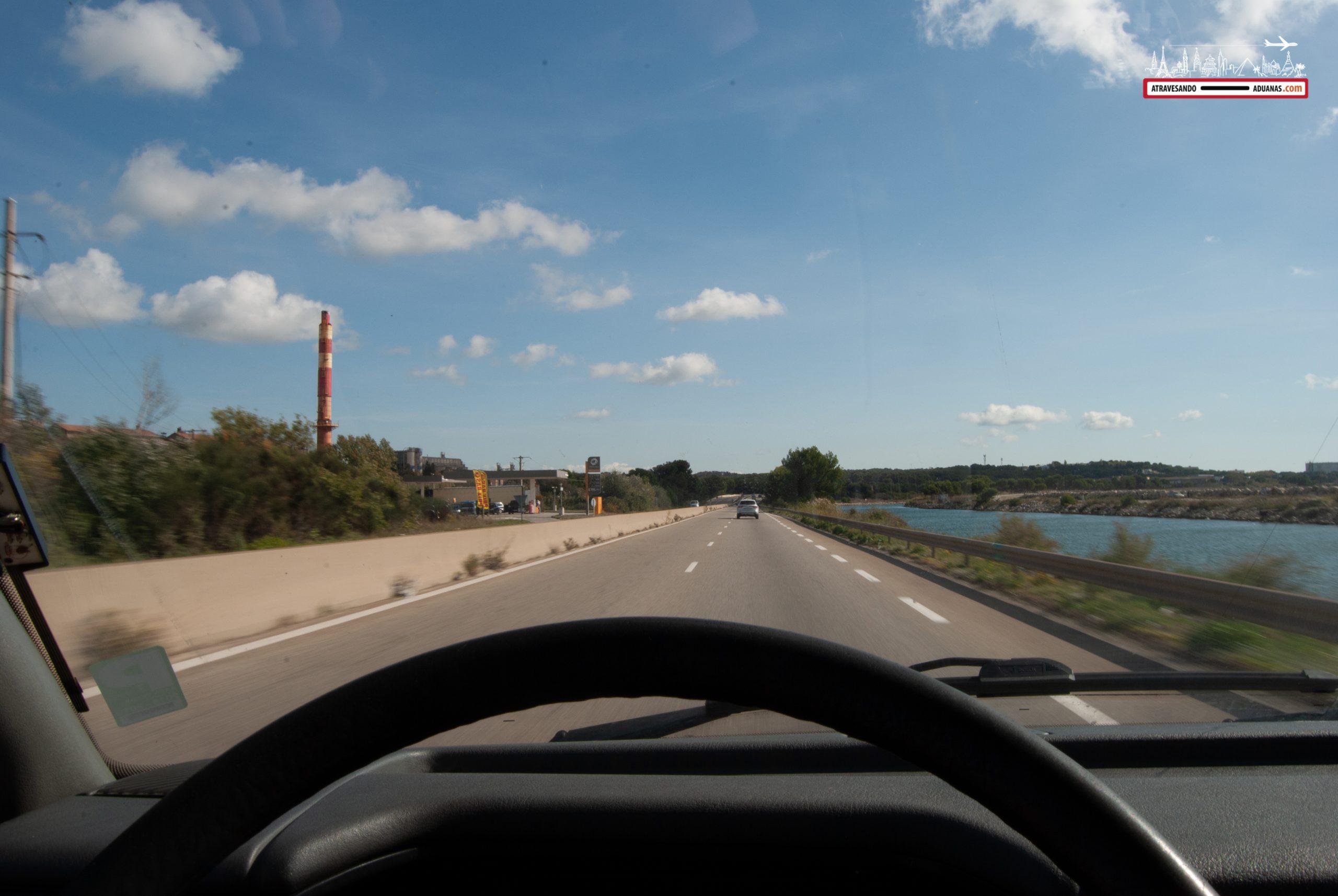 Entre Montpellier y Marsella