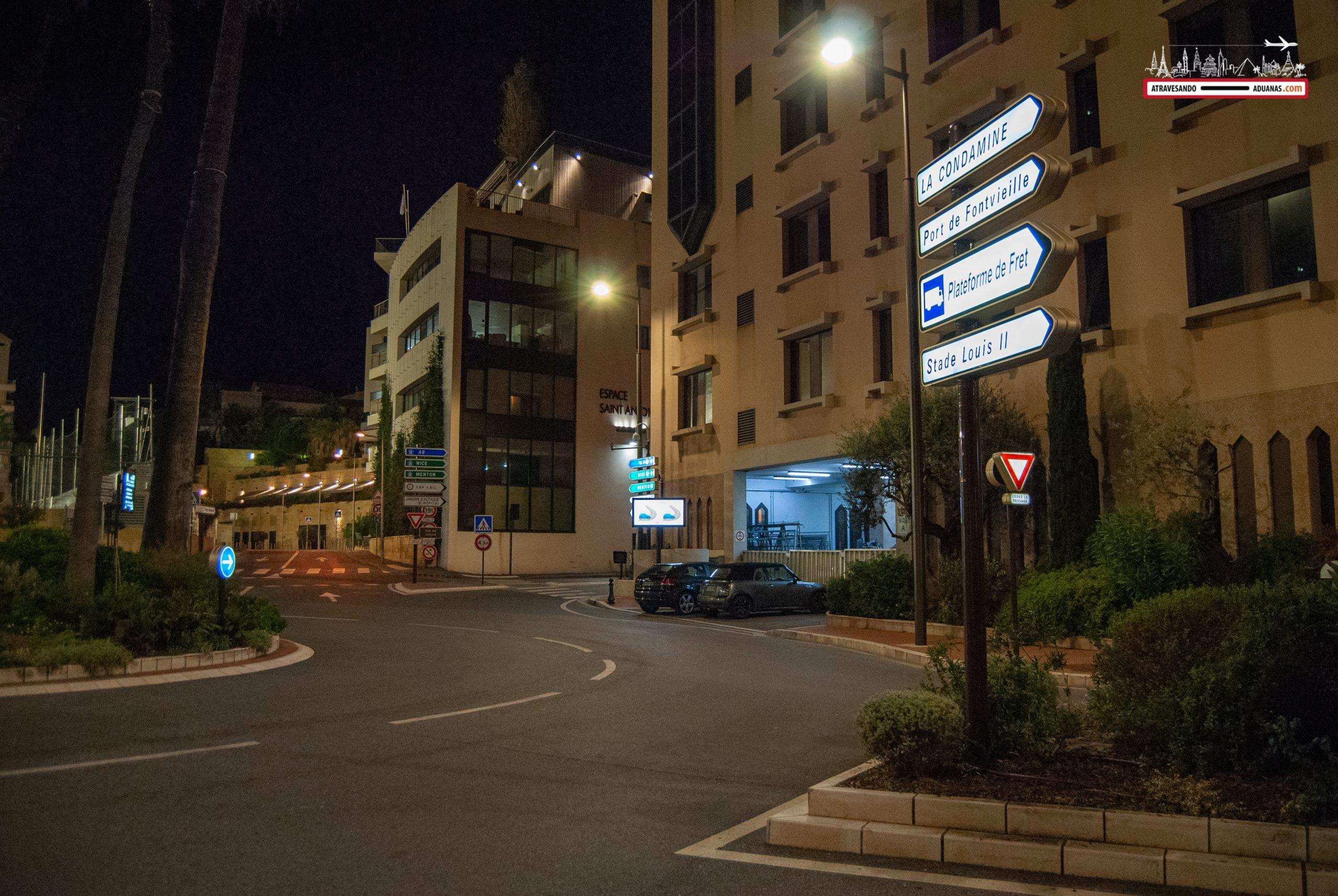 Frontera entre Francia y Mónaco
