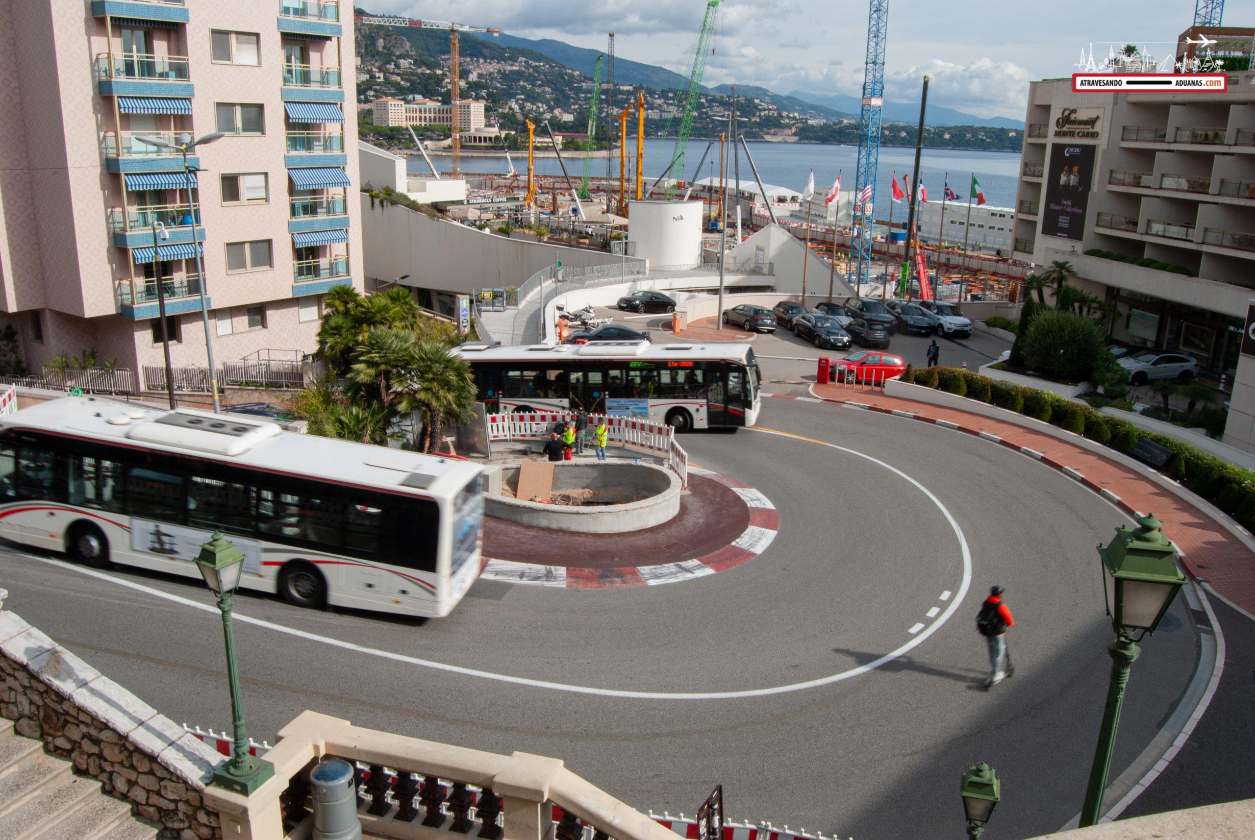 Giro de La Rascasse, en Mónaco