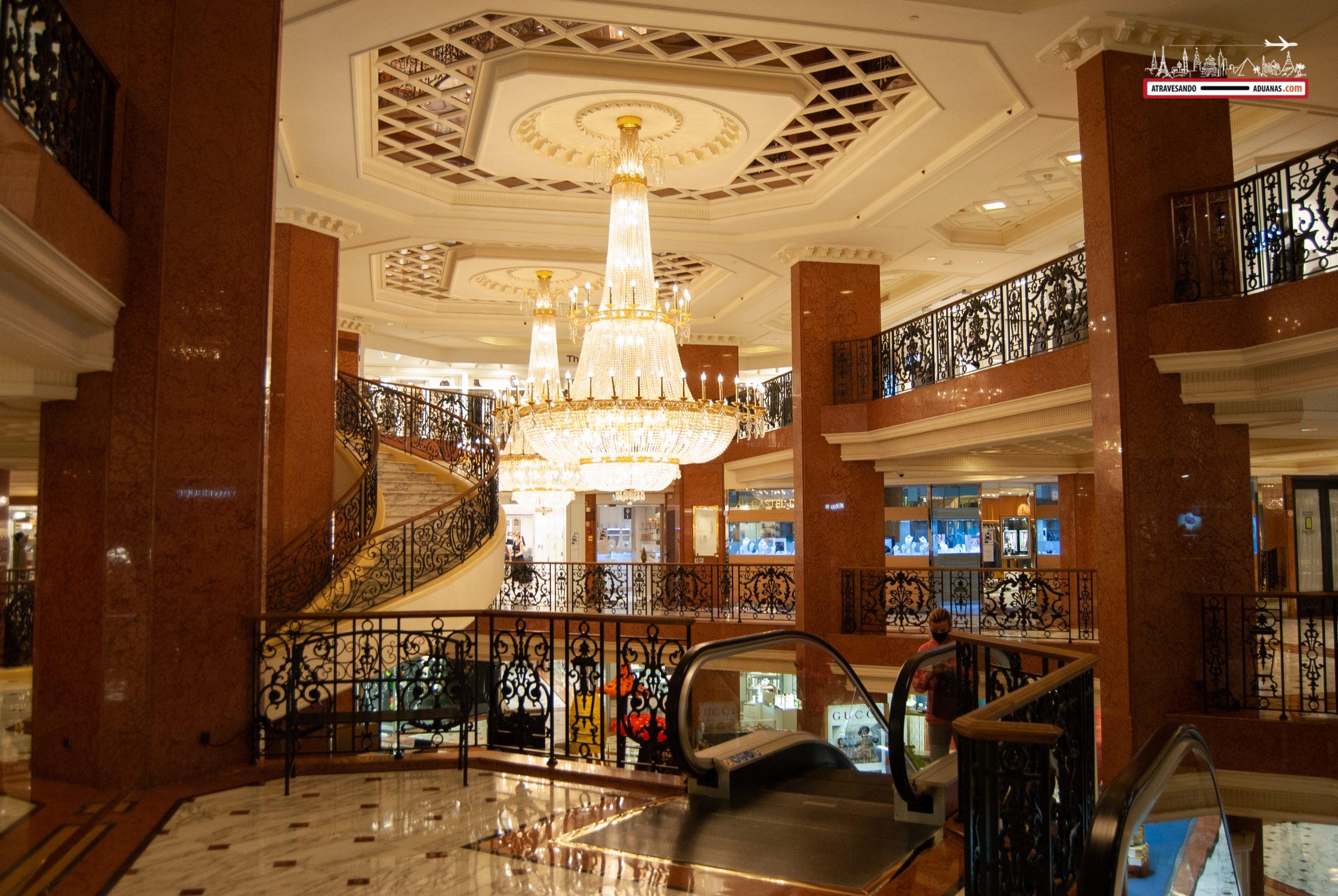 Centro comercial en Mónaco
