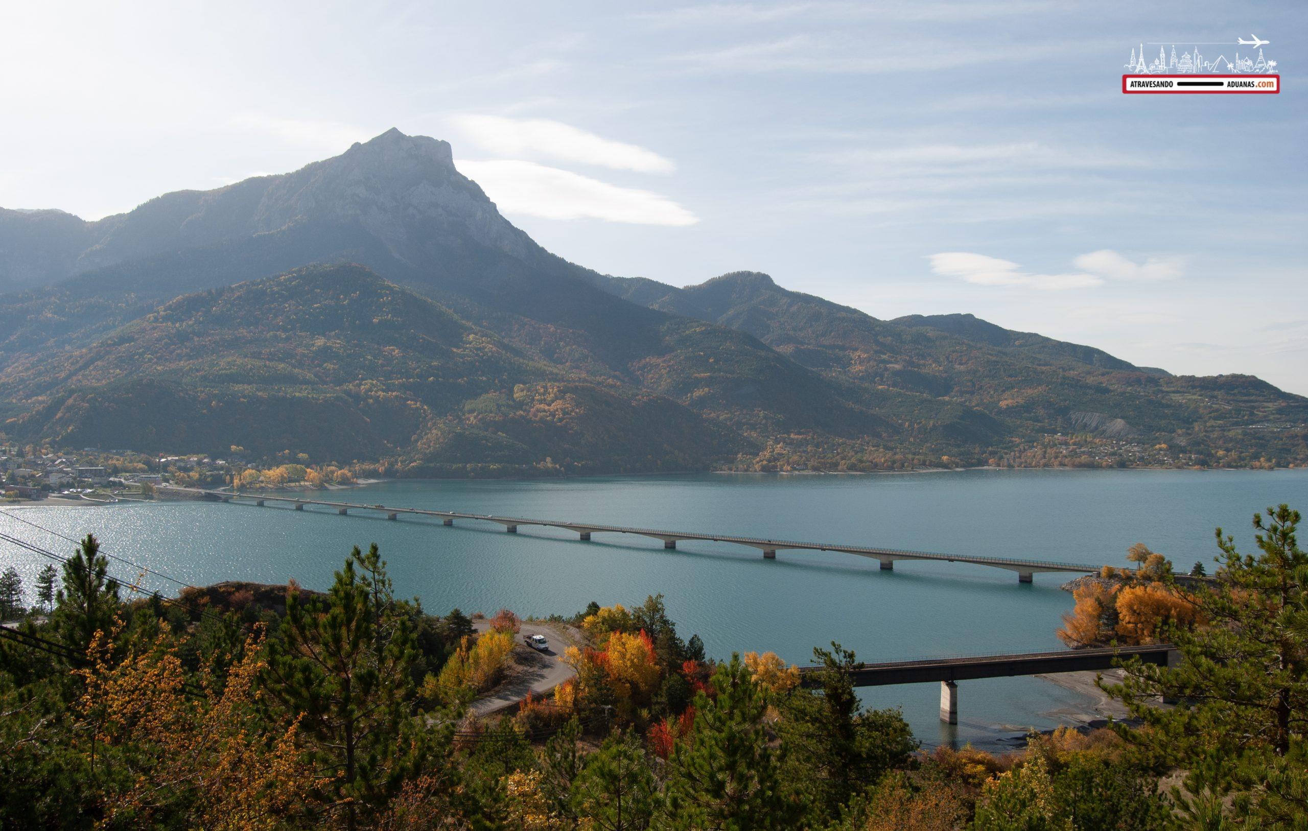 Lago en Savines-le-lac