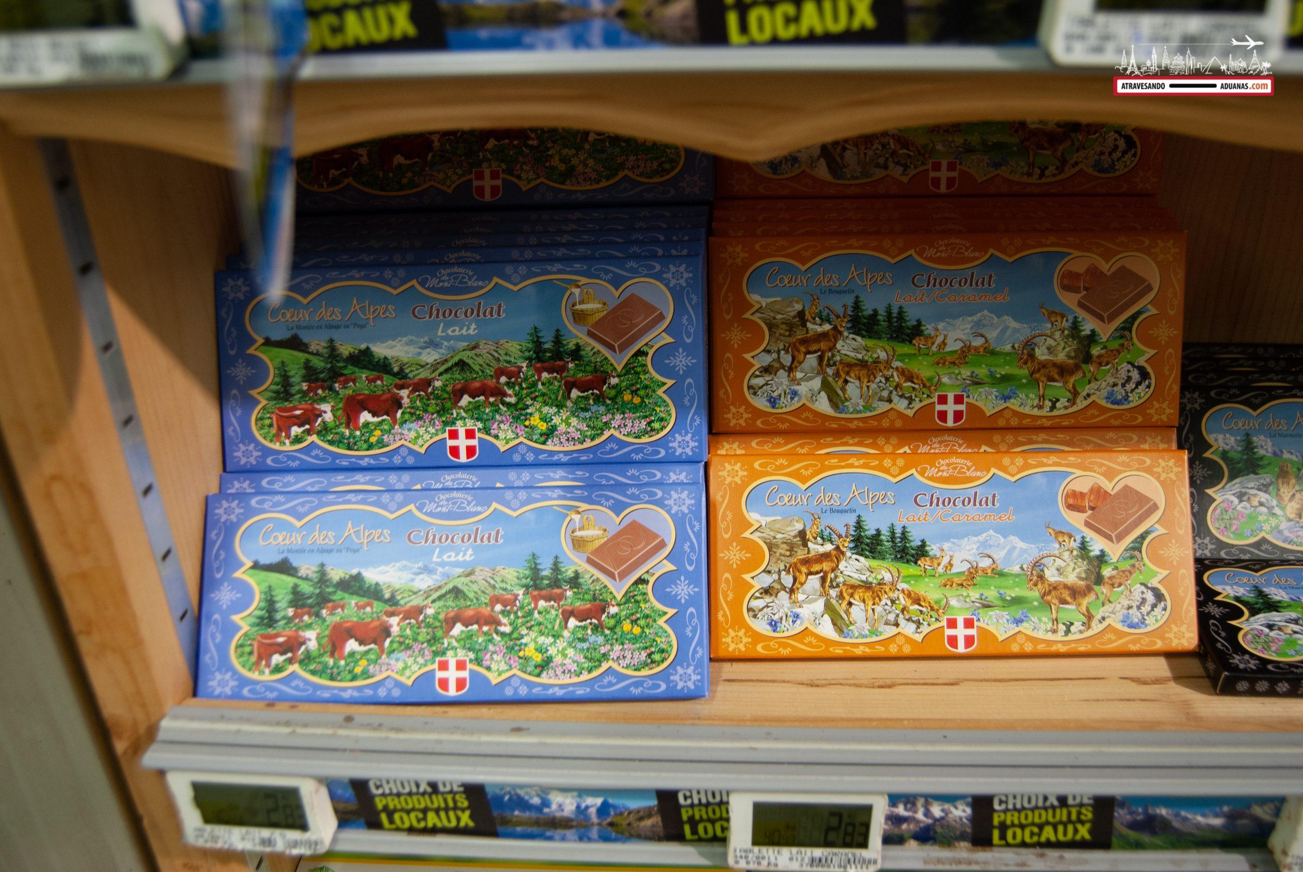 Chocolate en Chamonix